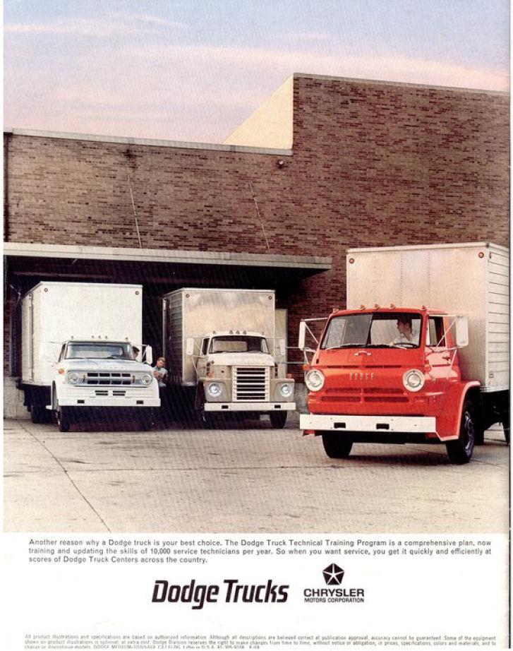 1969 Medium Duty Dodge Trucks 16