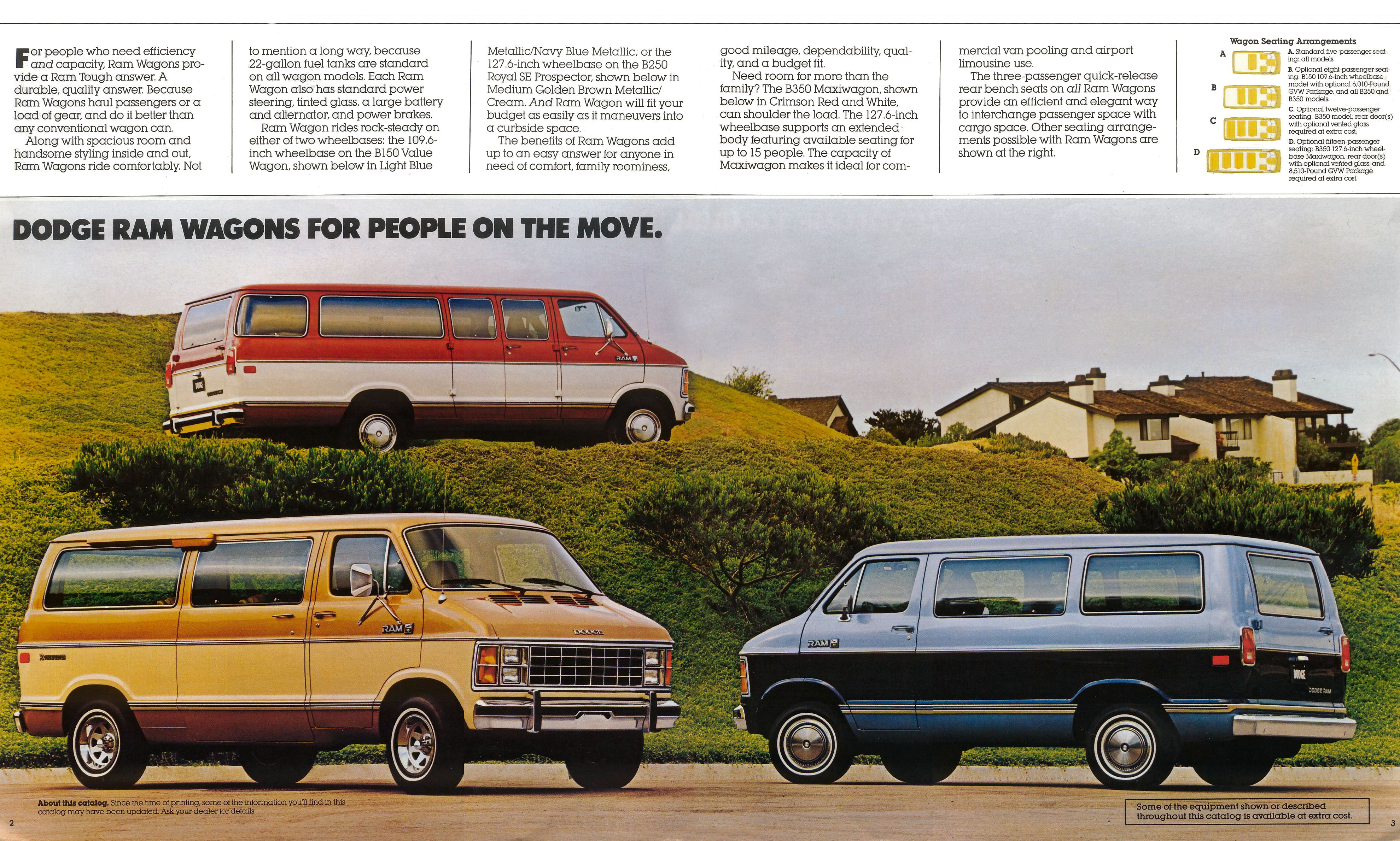 Old Dodge Ram >> Image: 1985 Dodge Wagons and Vans/1985 Dodge Wagons and ...