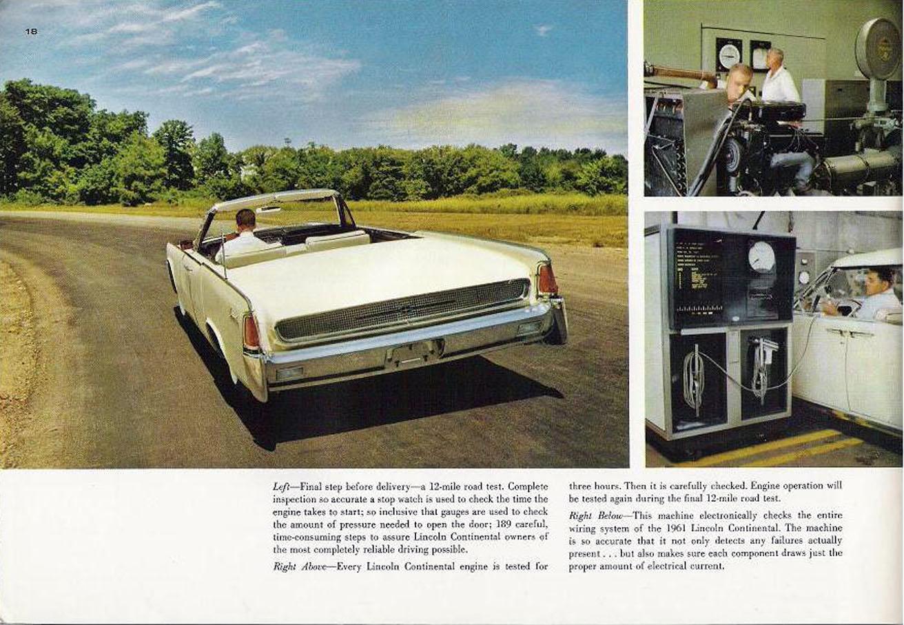 Image 1961 Lincoln Continental 1961 Lincoln Continental 19