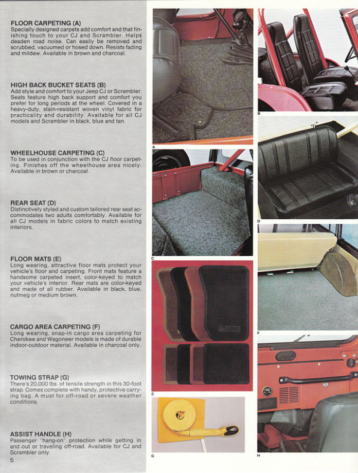 image 1982 jeep accessories 1982 jeep accessories catalog 05. Cars Review. Best American Auto & Cars Review
