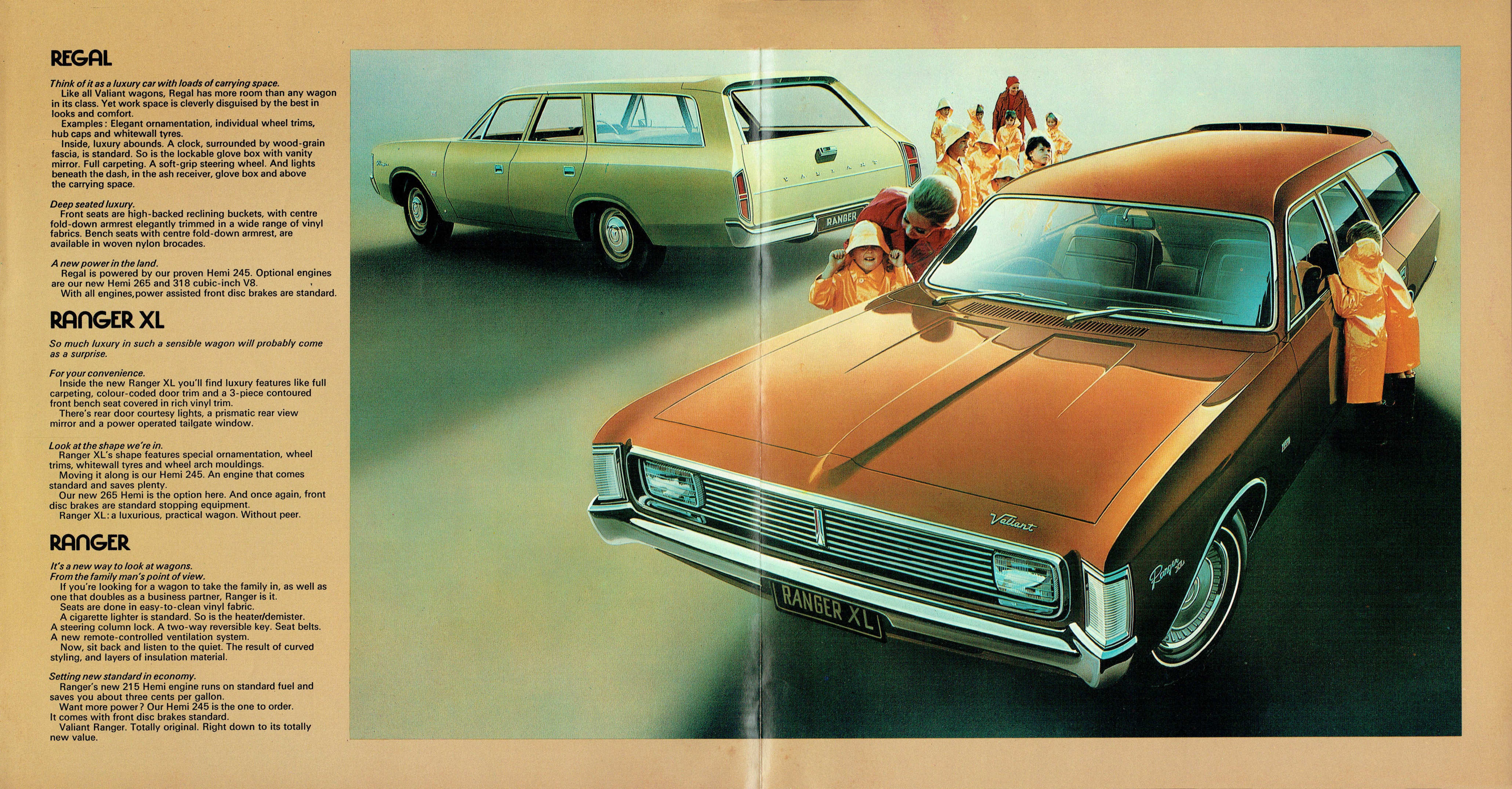 1971 Chrysler VH Valiant Wagon Brochure