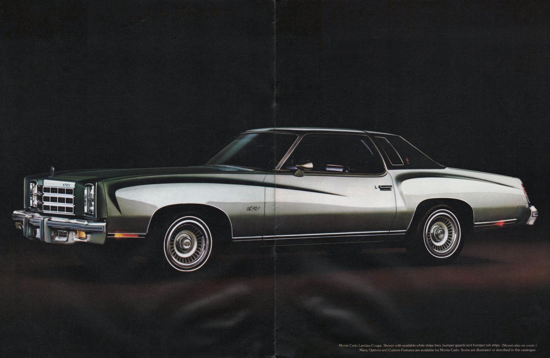 1977 Chevrolet Monte Carlo 2 Door Monte Carlo S Ebay