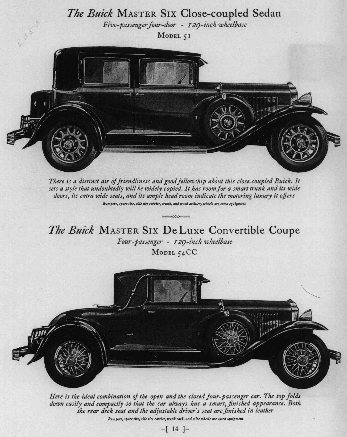 1929 Buick Silver Anniversary Brochure page 15 of 47