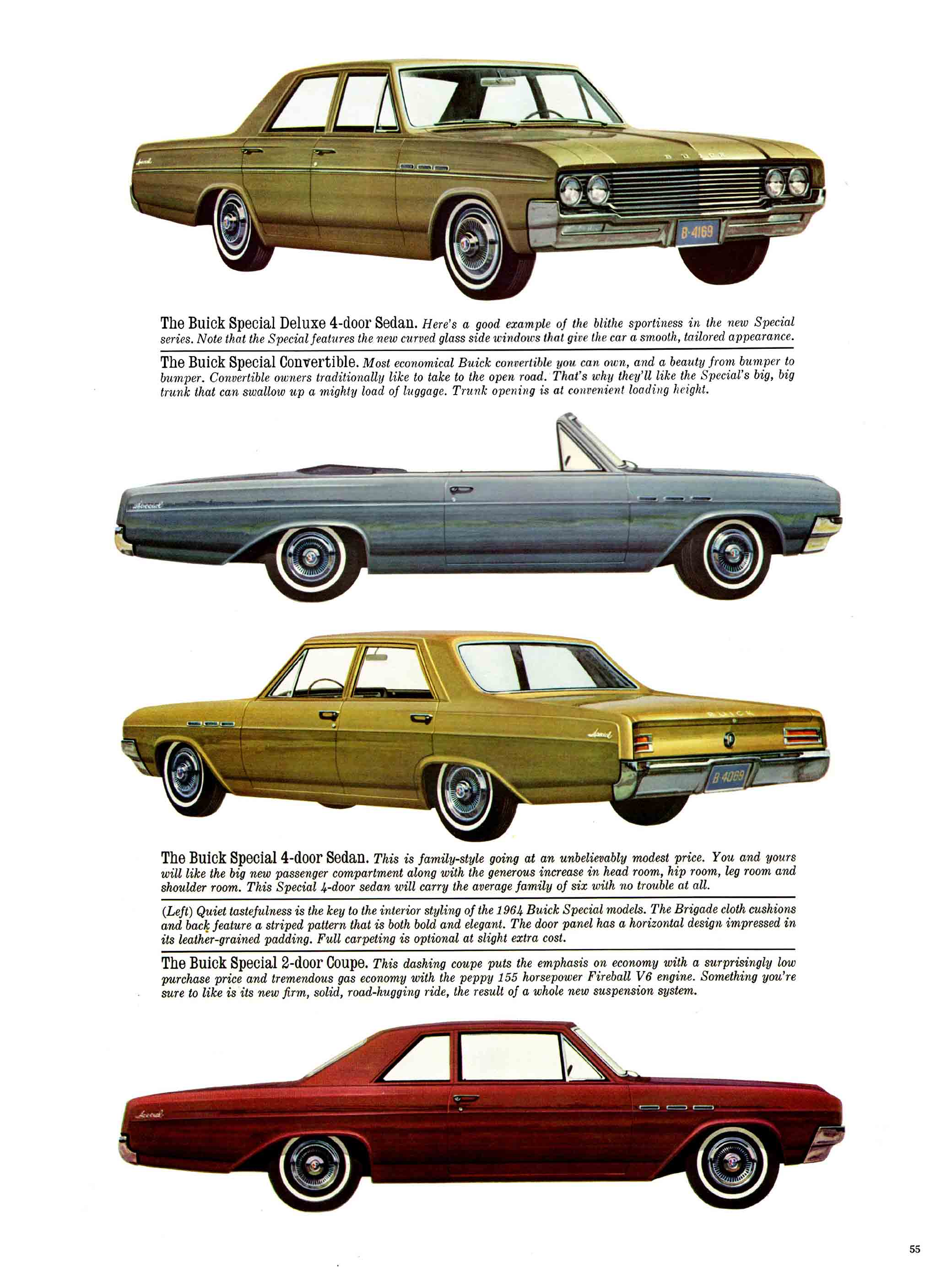 1964 Buick Full Line Prestige Brochure Page 35 Of 40