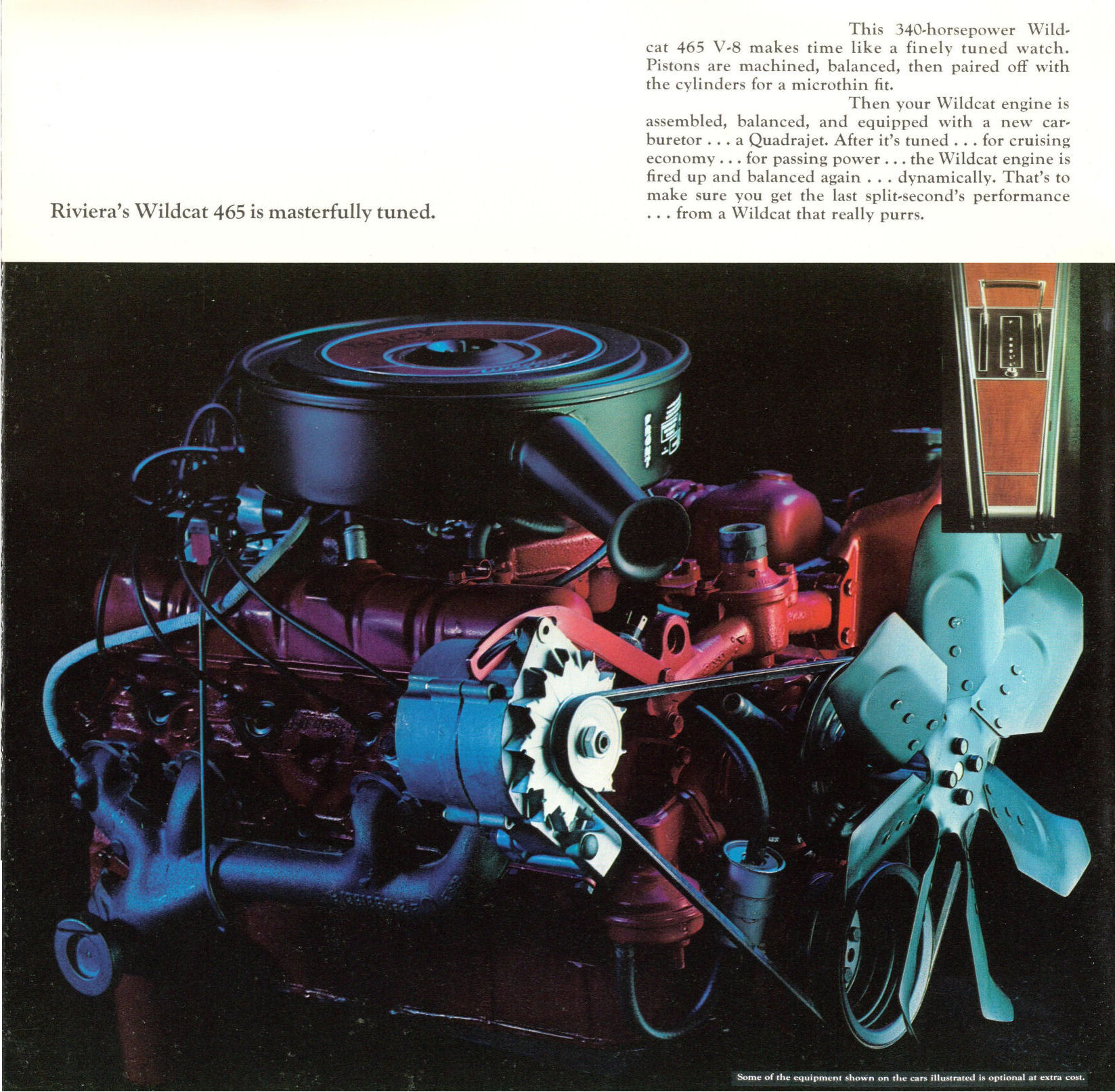 Buick Wildcat V8 Engine: Directory Index: Buick/1966_Buick/1966_Buick_Riviera_Brochure