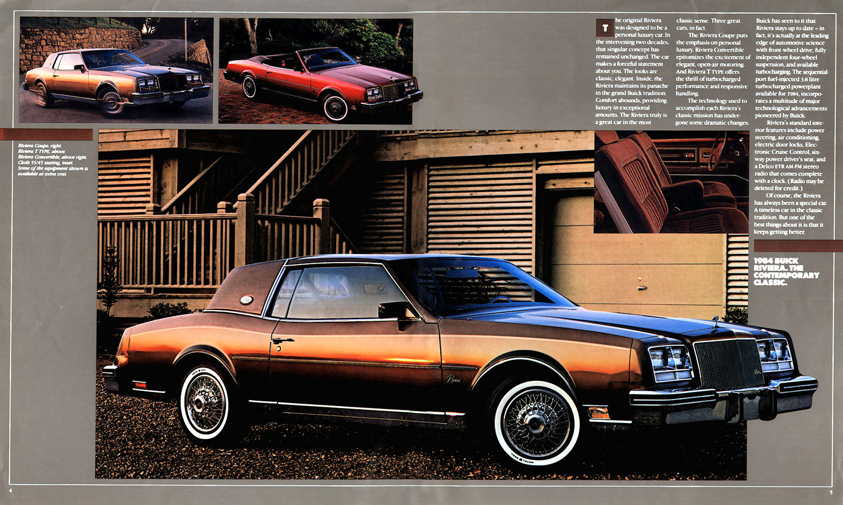 1984 buick riviera t type coupe eighties cars. Black Bedroom Furniture Sets. Home Design Ideas