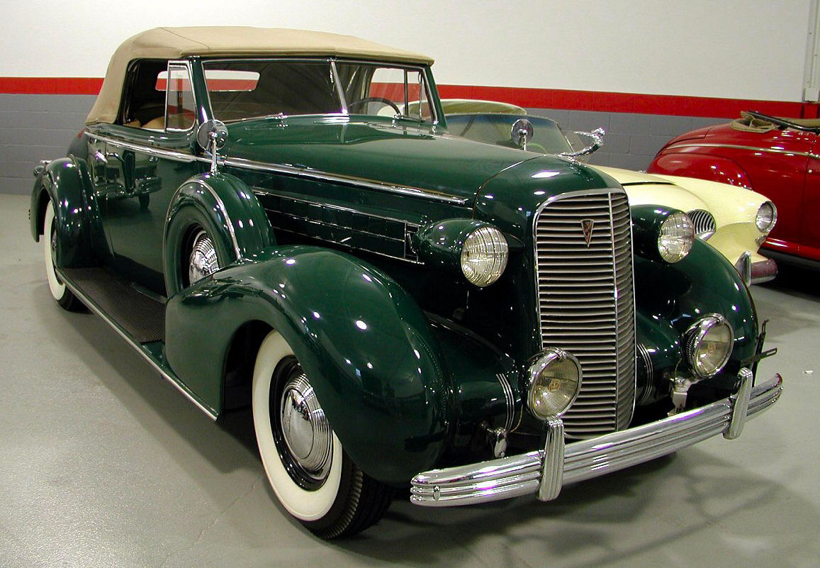 1936 Cadillac LaSalle Coupe