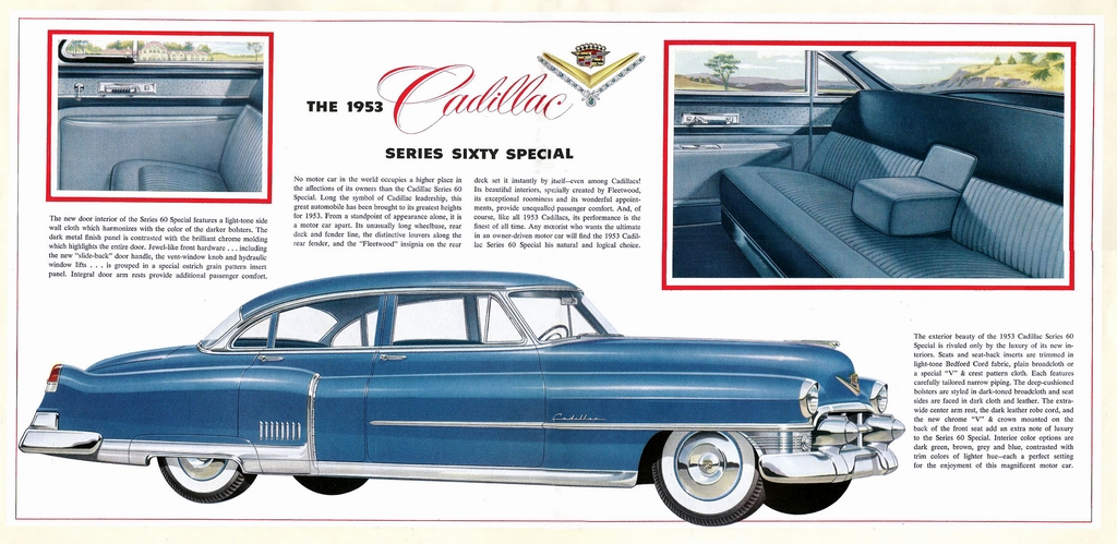 1953 Cadillac Brochure