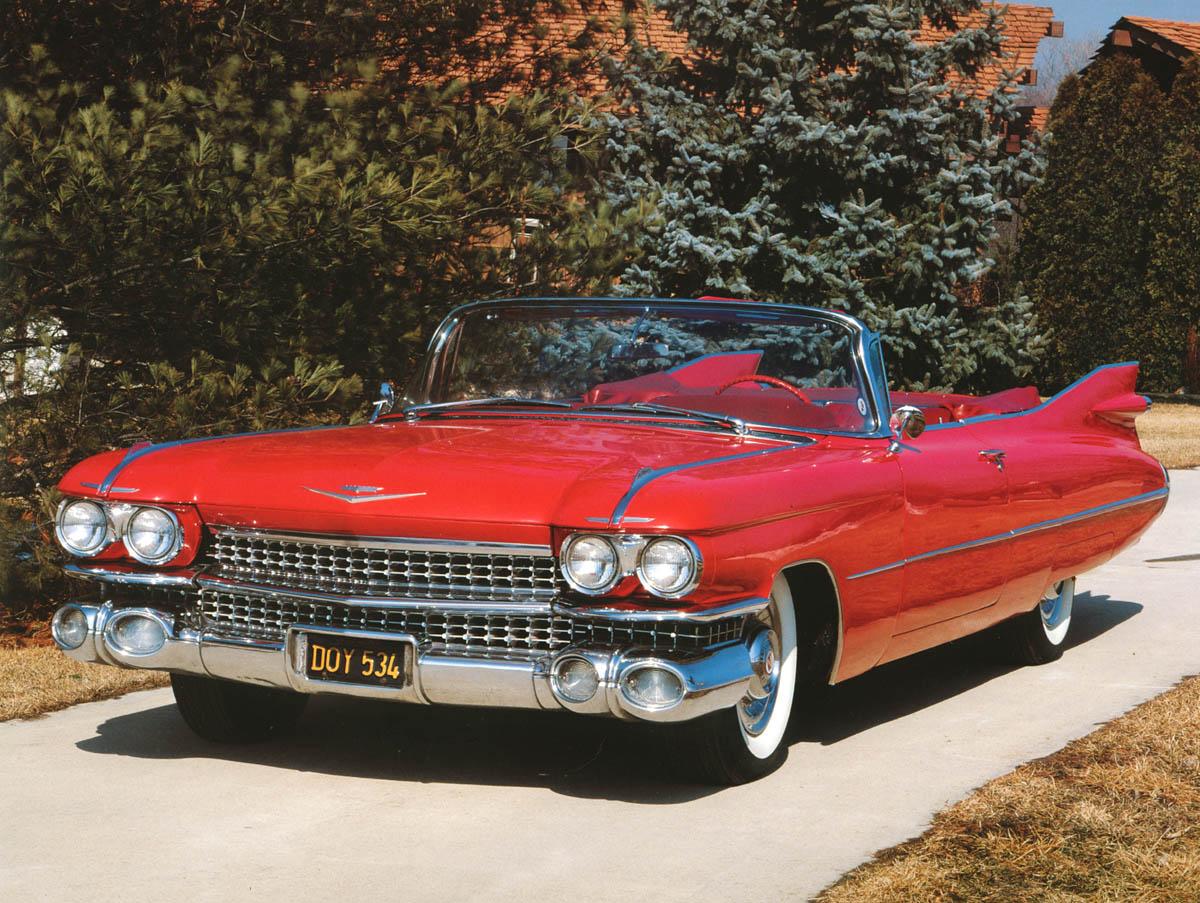 1959 Cadillac Bochures And Owners Manual