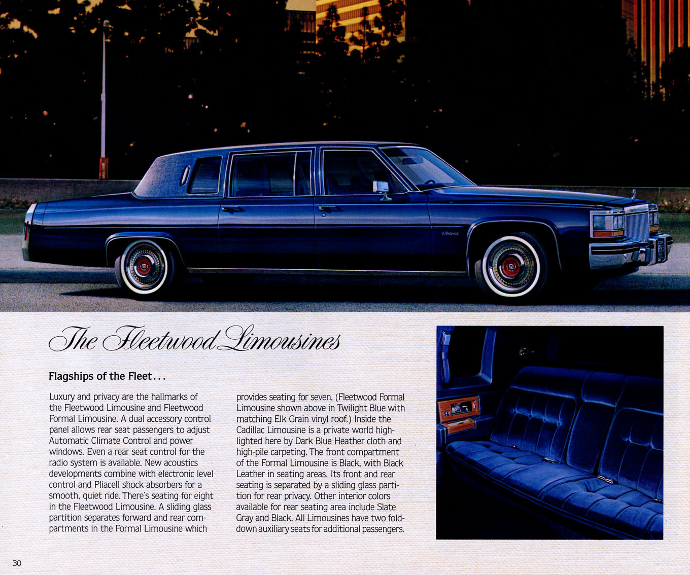 """IMCDb.org: 1980 Cadillac Fleetwood Limousine In """"Rich And"""