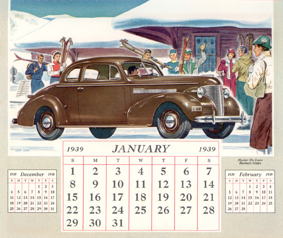 Chevrolet Calendar B on 1937 Chevrolet Wiring Diagram