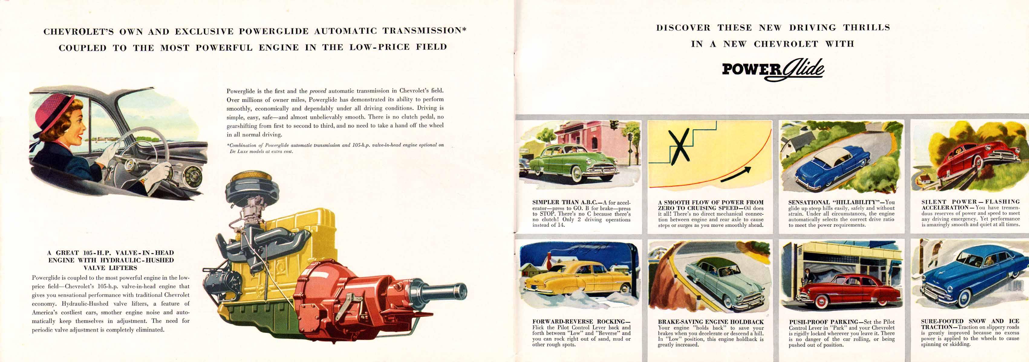 1951 Chevrolet Fulll Line Brochure