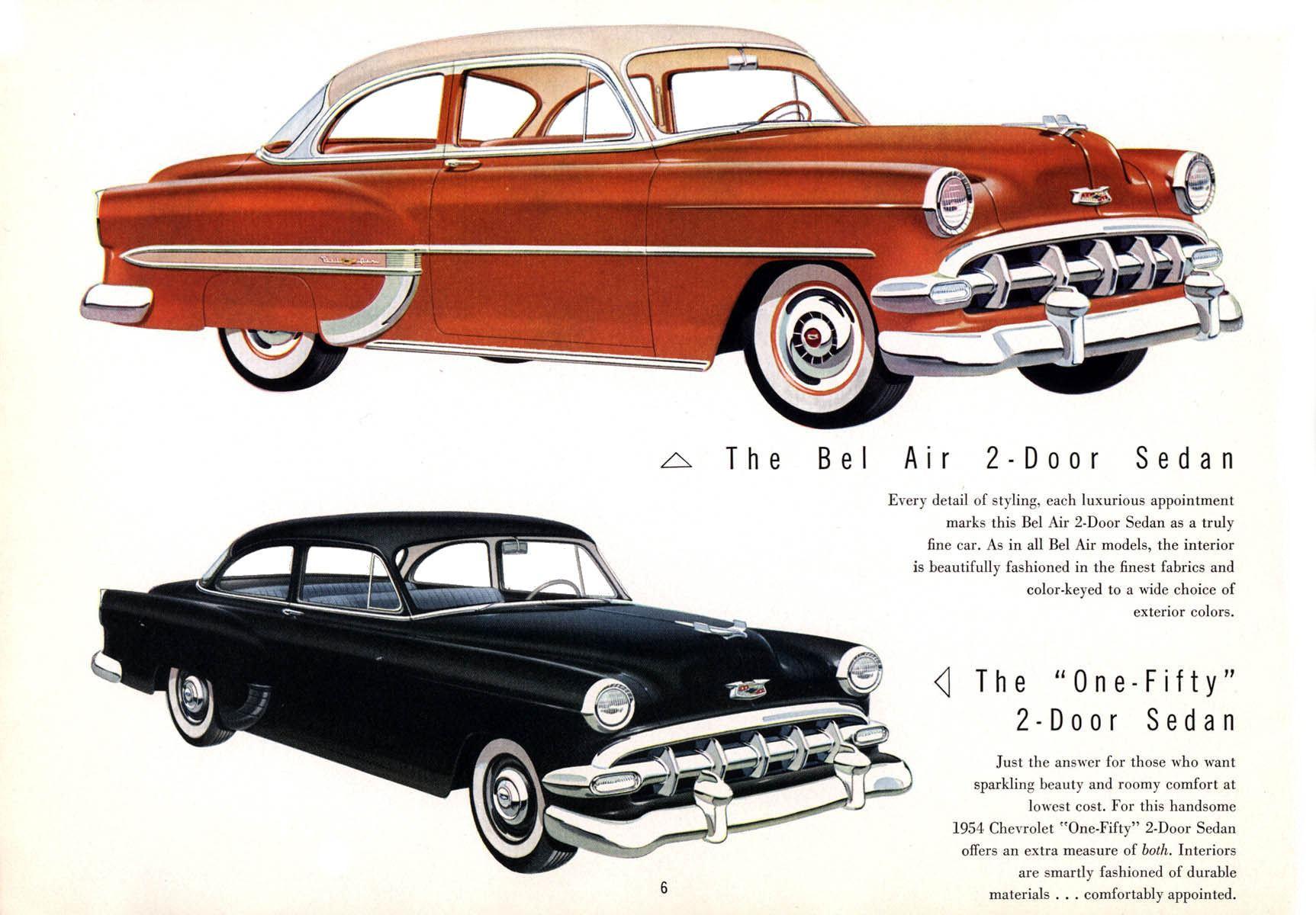 Directory Index: Chevrolet/1954_Chevrolet/1954_Chevrolet_Brochure