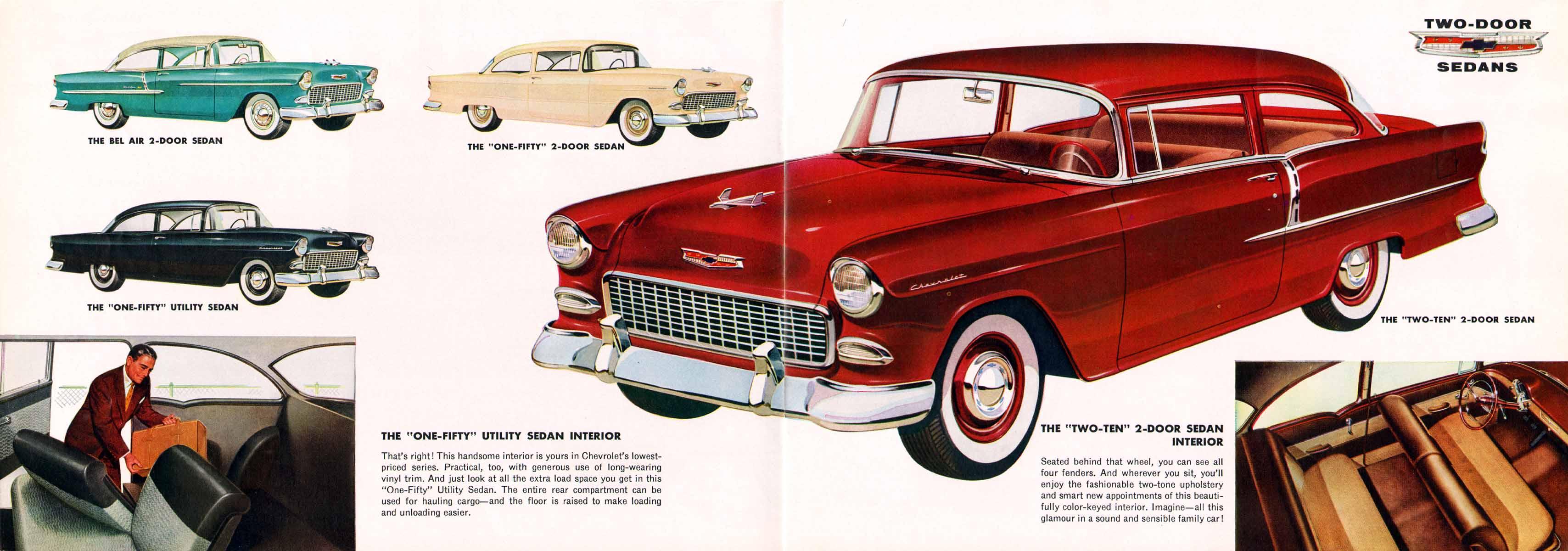 directory index chevrolet 1955 chevrolet 1955 chevrolet prestige brochure. Black Bedroom Furniture Sets. Home Design Ideas