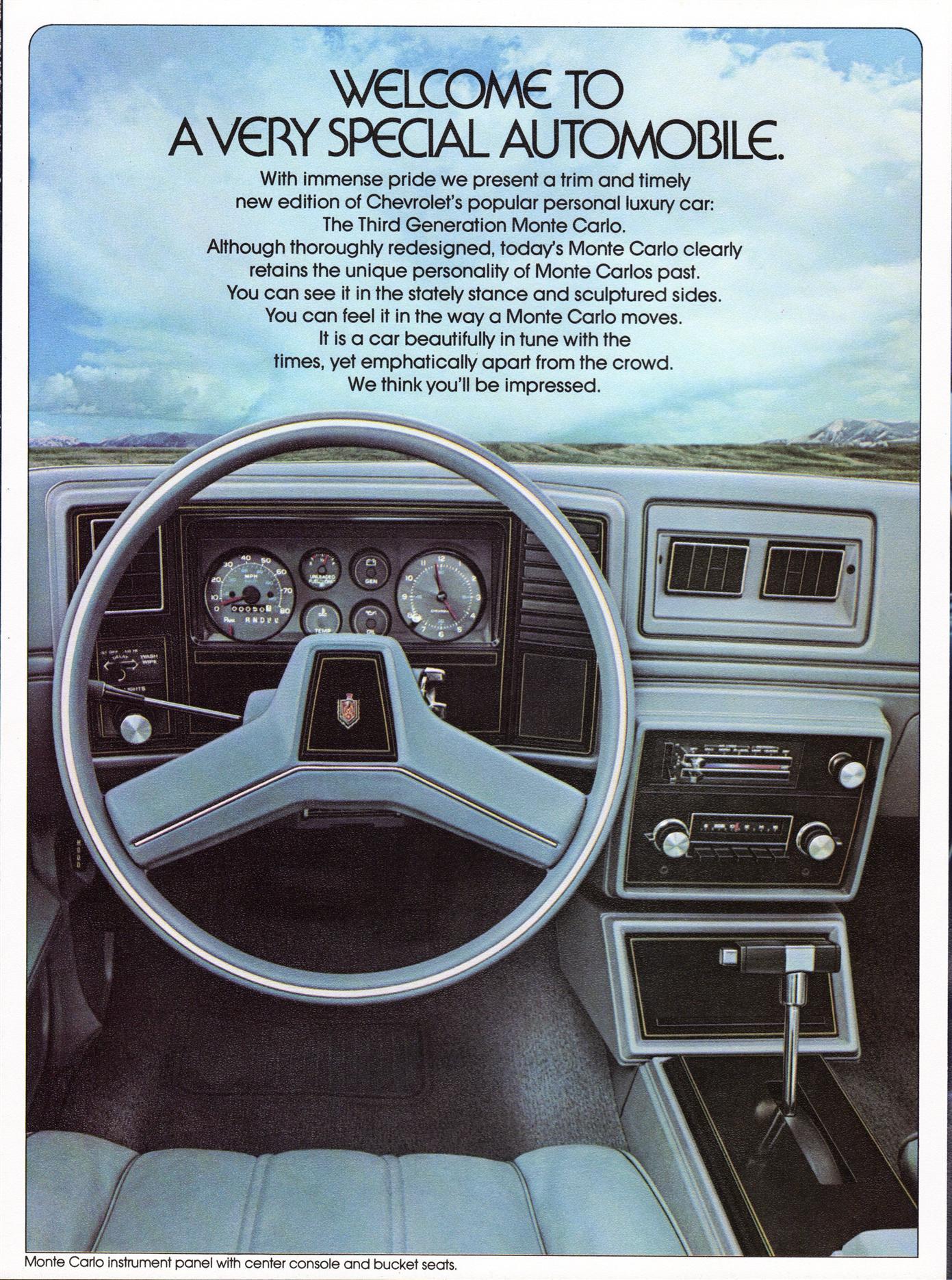 Cadillac 1978 Monte Carlo