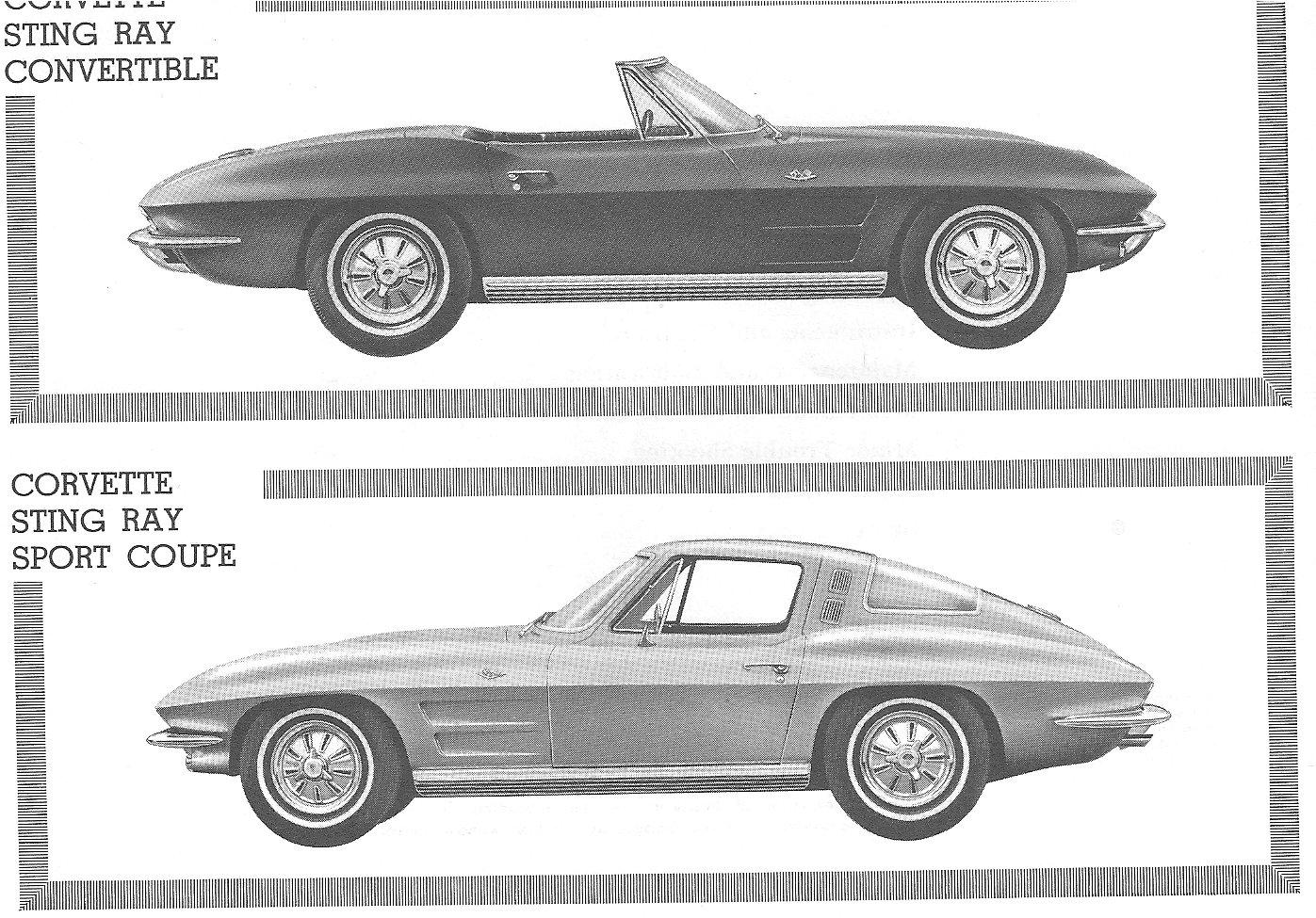 directory index chevrolet corvette 1964 chevrolet corvette rh oldcarbrochures com 03 Corvette Convertible 03 Corvette Z06