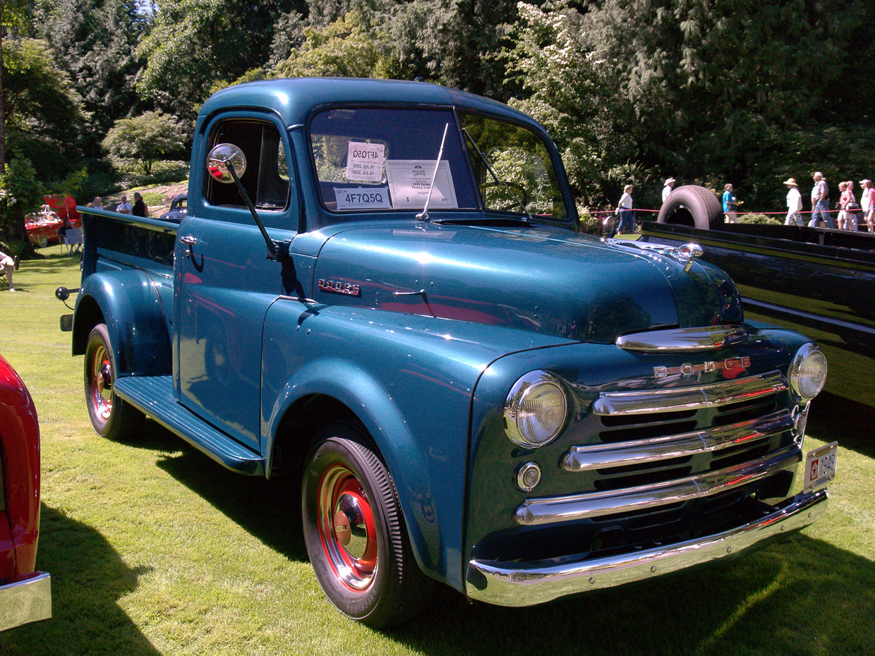 1949 Dodge Brochures And Manuals Pickup Truck