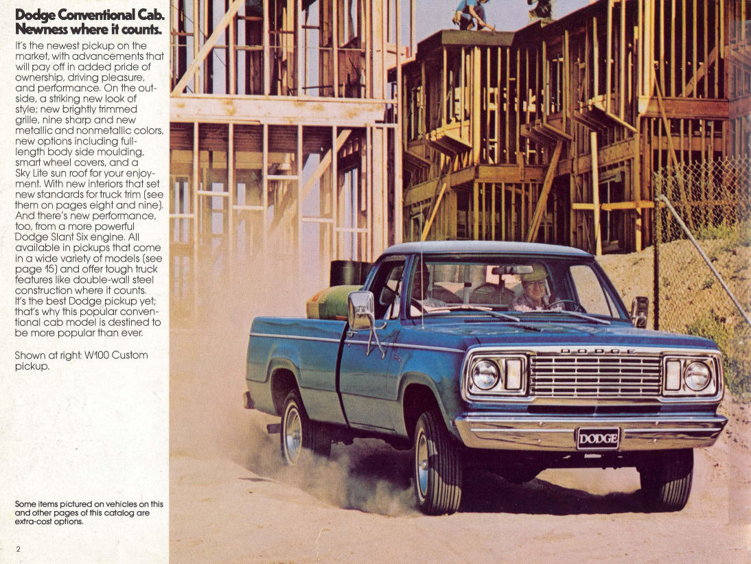 Dodge Pickups on 1977 Dodge Power Wagon Parts