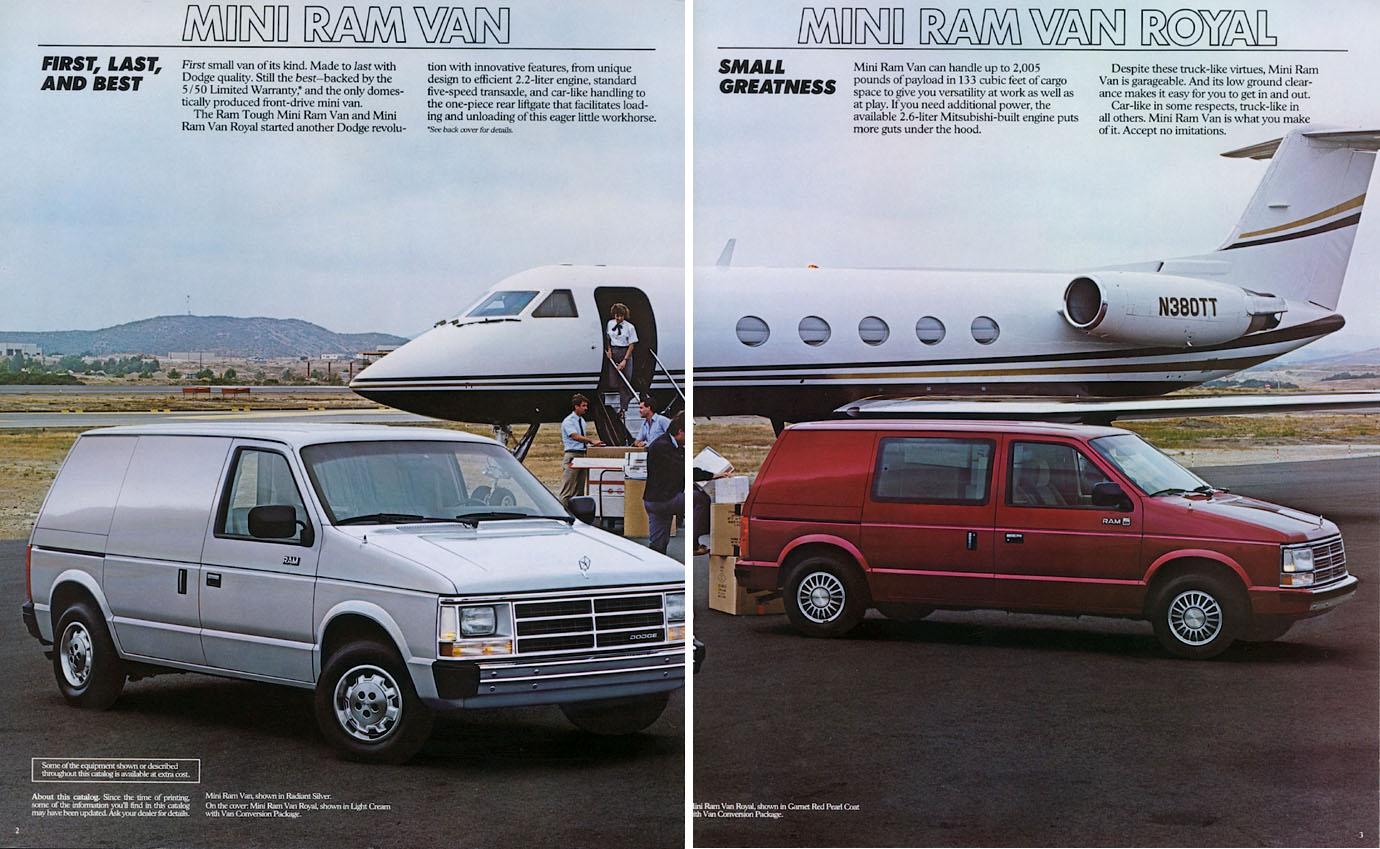 1987 Dodge Mini Ram Van 02