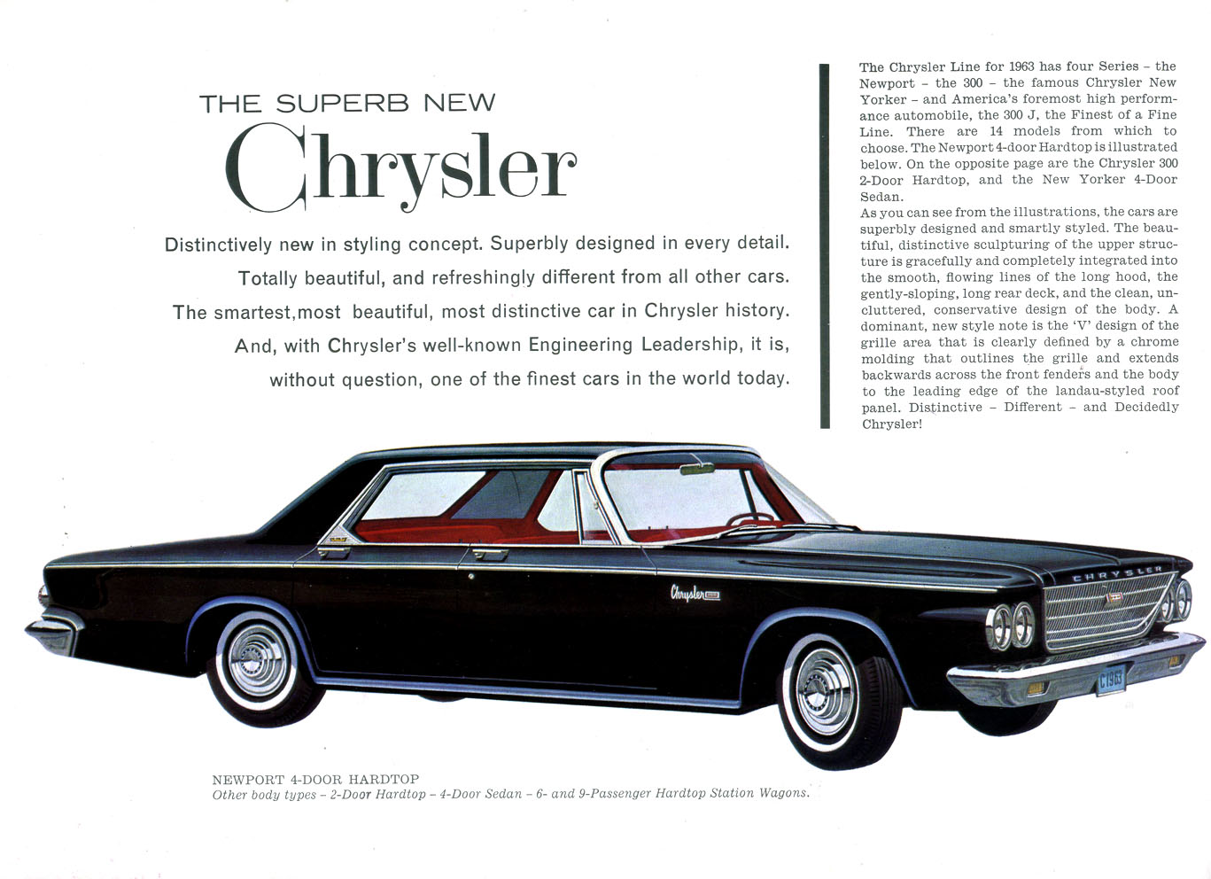 Directory Index Chrysler Corporation And Concepts 1963