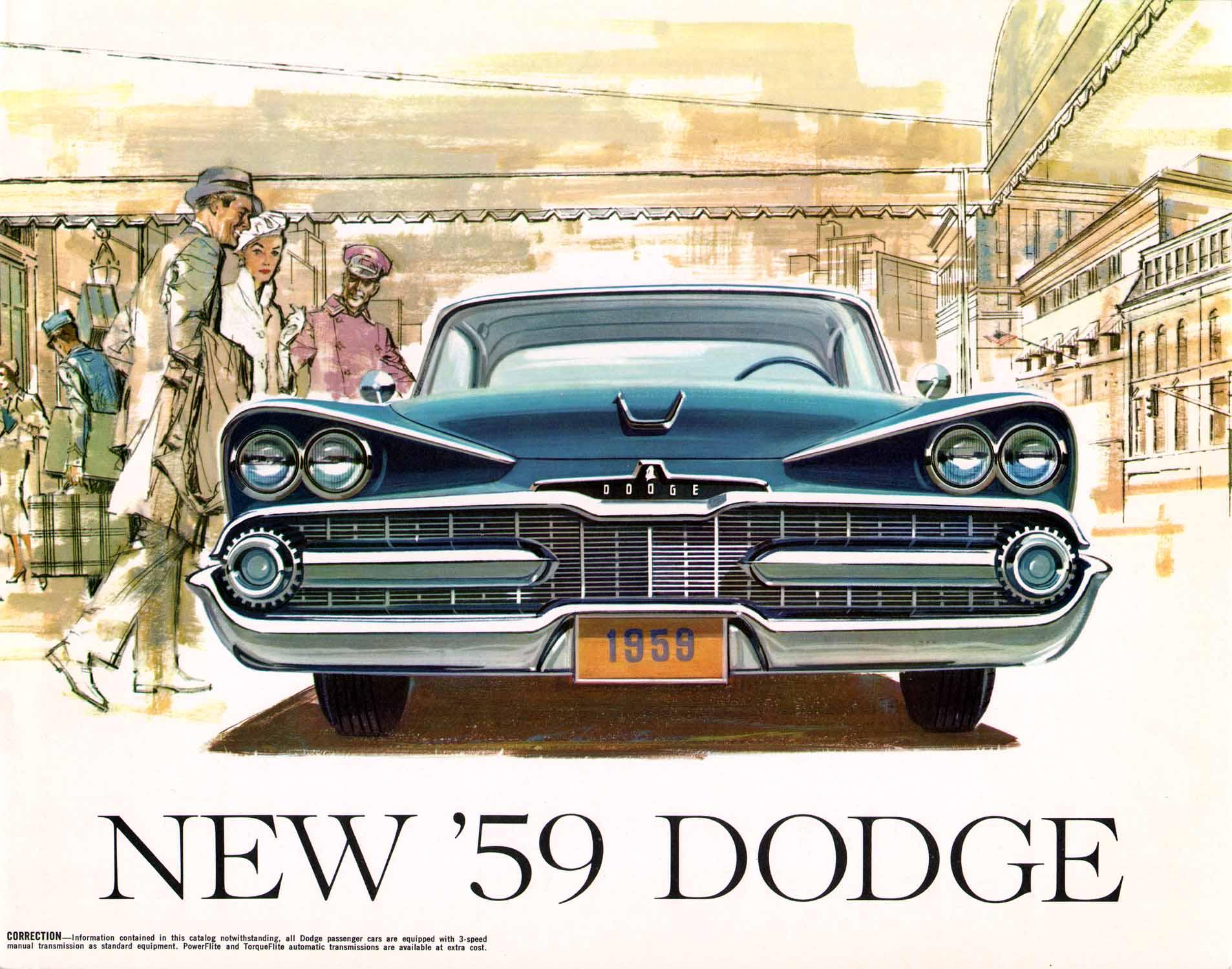 old car brochure