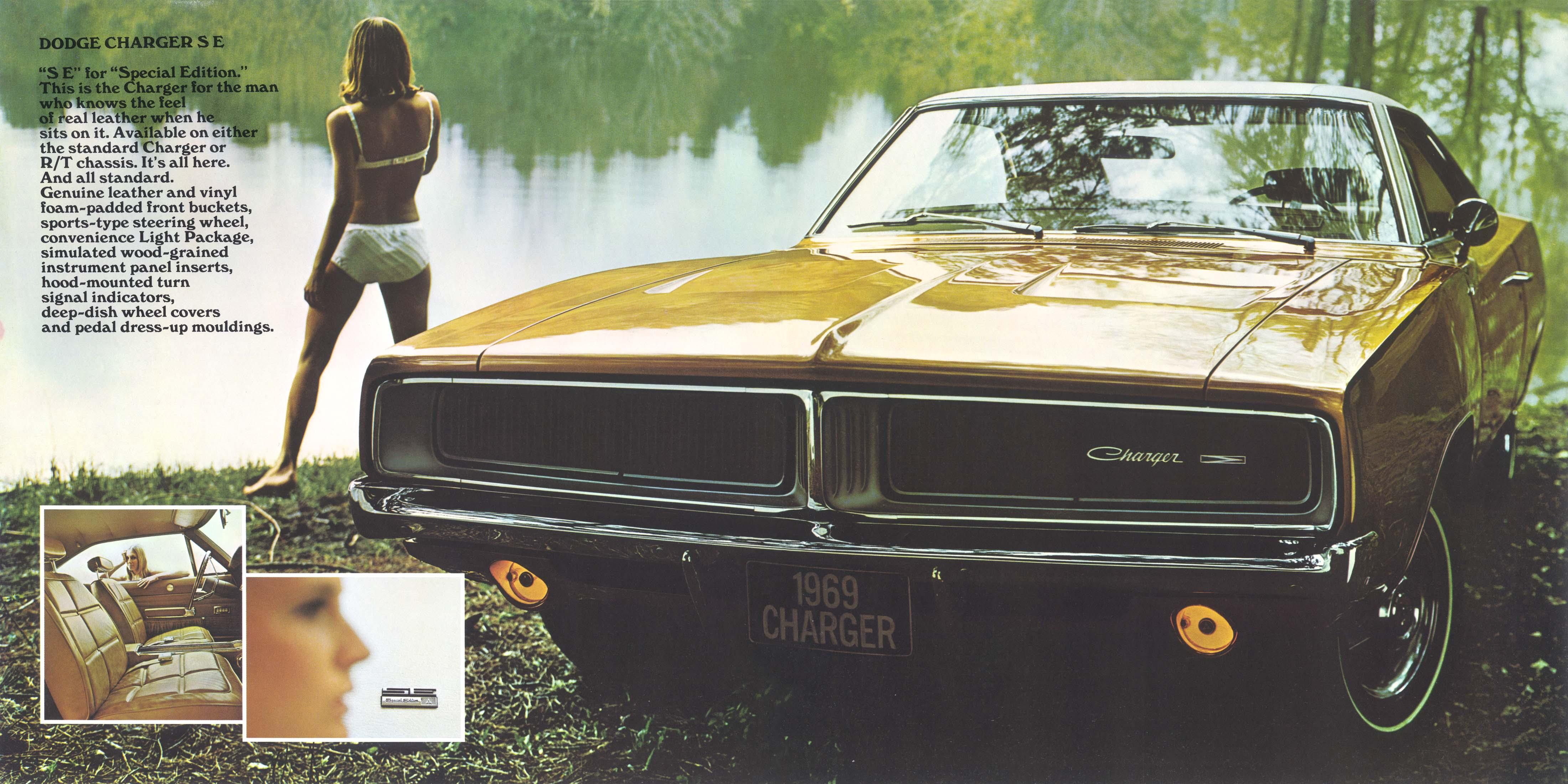 1969 Dodge Charger Brochure