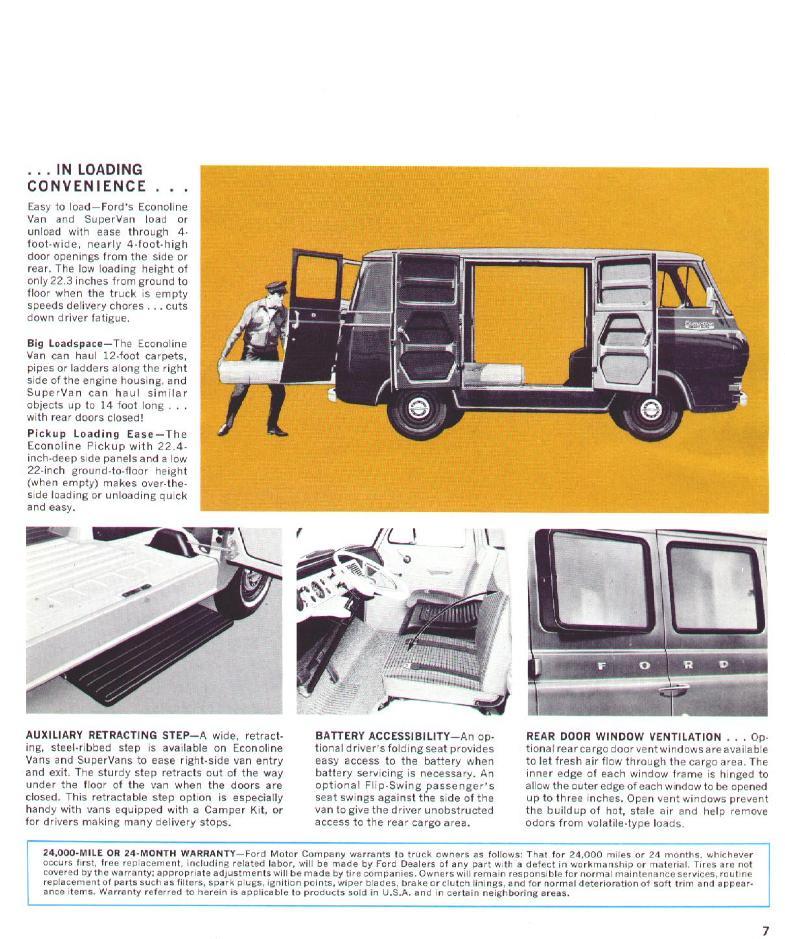 Directory Index Fmc Trucksvans1966trucksvans Rholdcarbrochures: Ford Econoline Van Battery Location At Gmaili.net