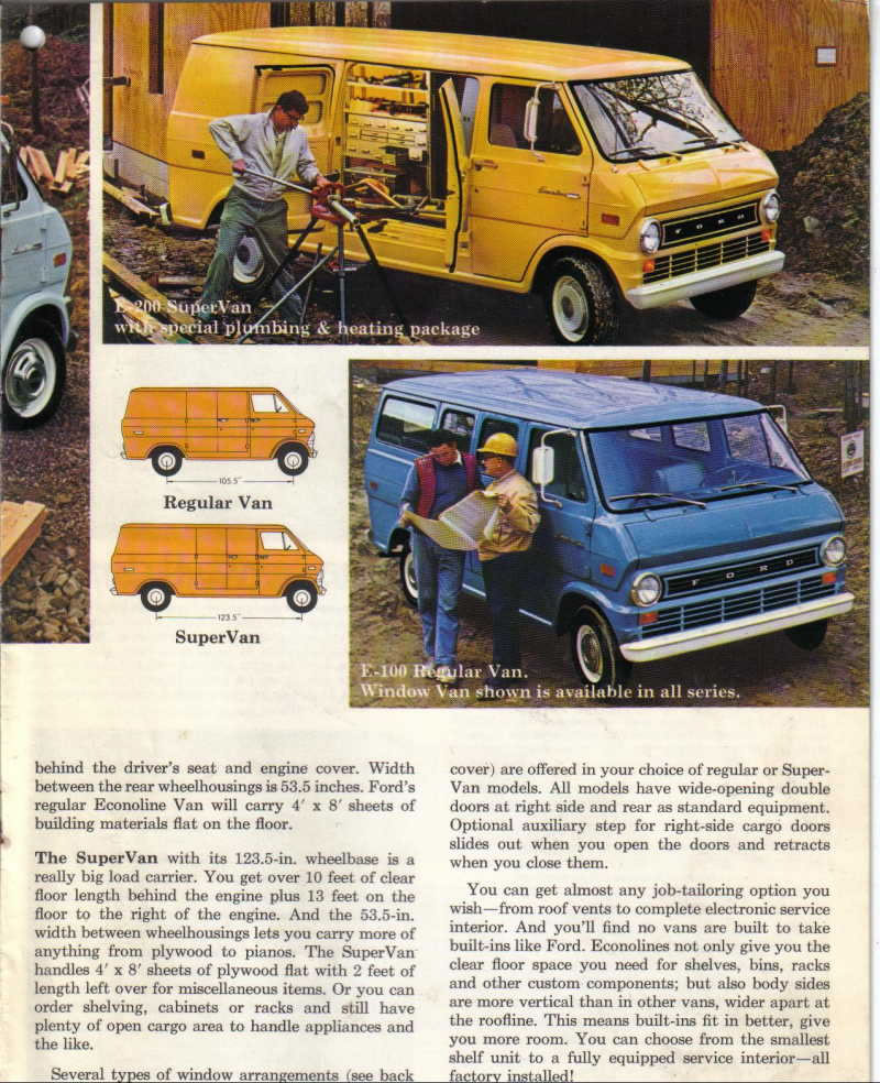 Ford Econoline Specifications Ehow Ehow How To /page/232