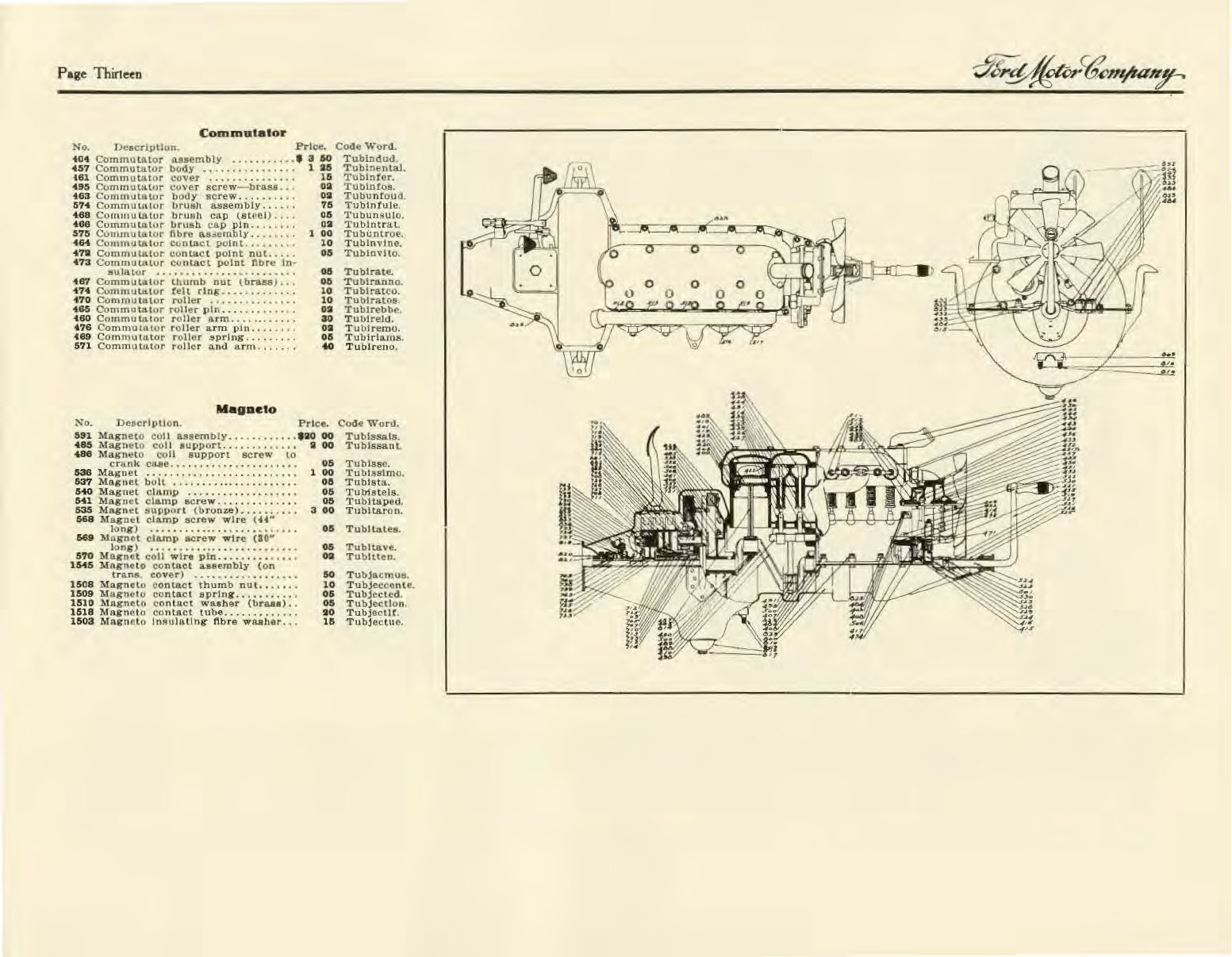 1909 Ford Model T Price List 1926 1927 Model T Ford Wiring Diagram 1909 Model  T Wiring Diagram