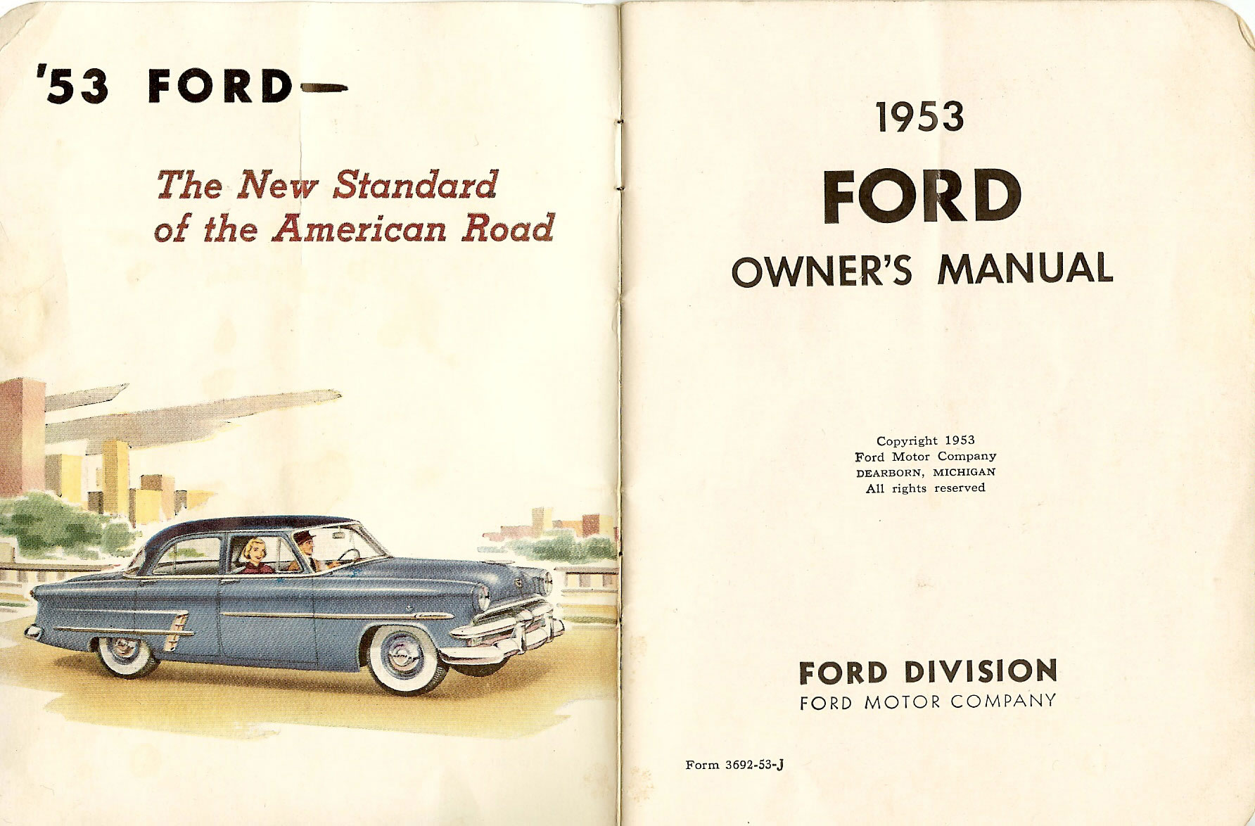 directory index ford 1953 ford 1953 ford owners manual rh oldcarbrochures com owner manual ford explorer 2002 owner manual ford taurus 2002