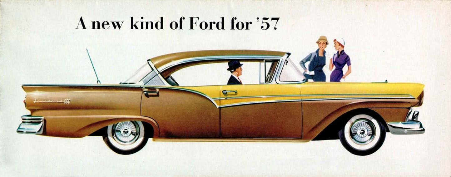 Directory Index Ford 1957 Ford 1957 Ford Full Line Brochure