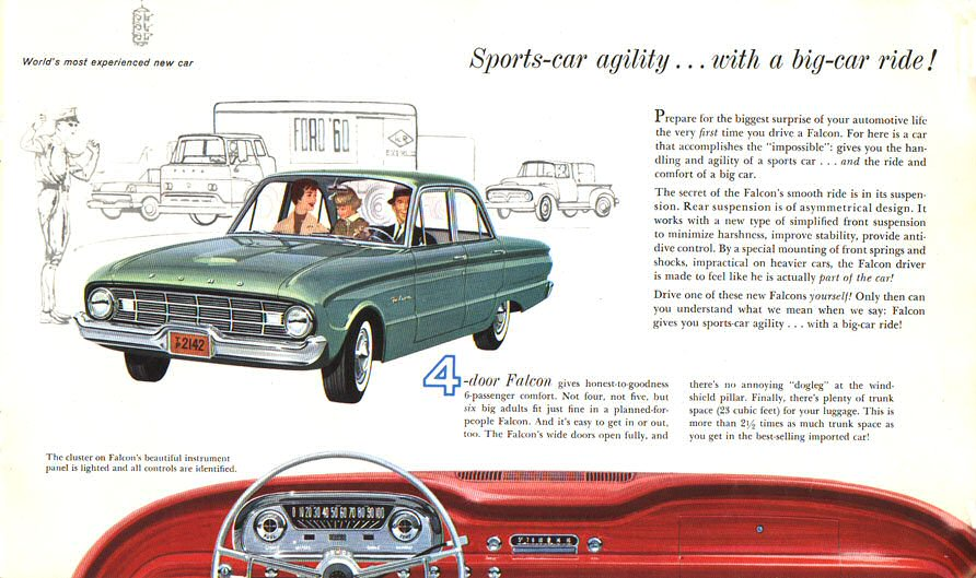 Directory Index Ford 1960 Ford 1960 Ford Falcon Brochure