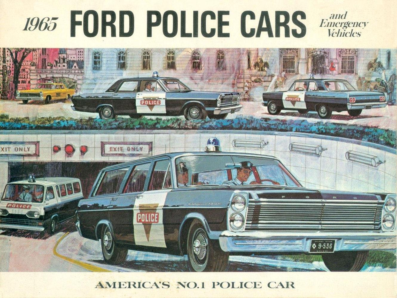 N 1965 Ford Police Cars 01 Jpg