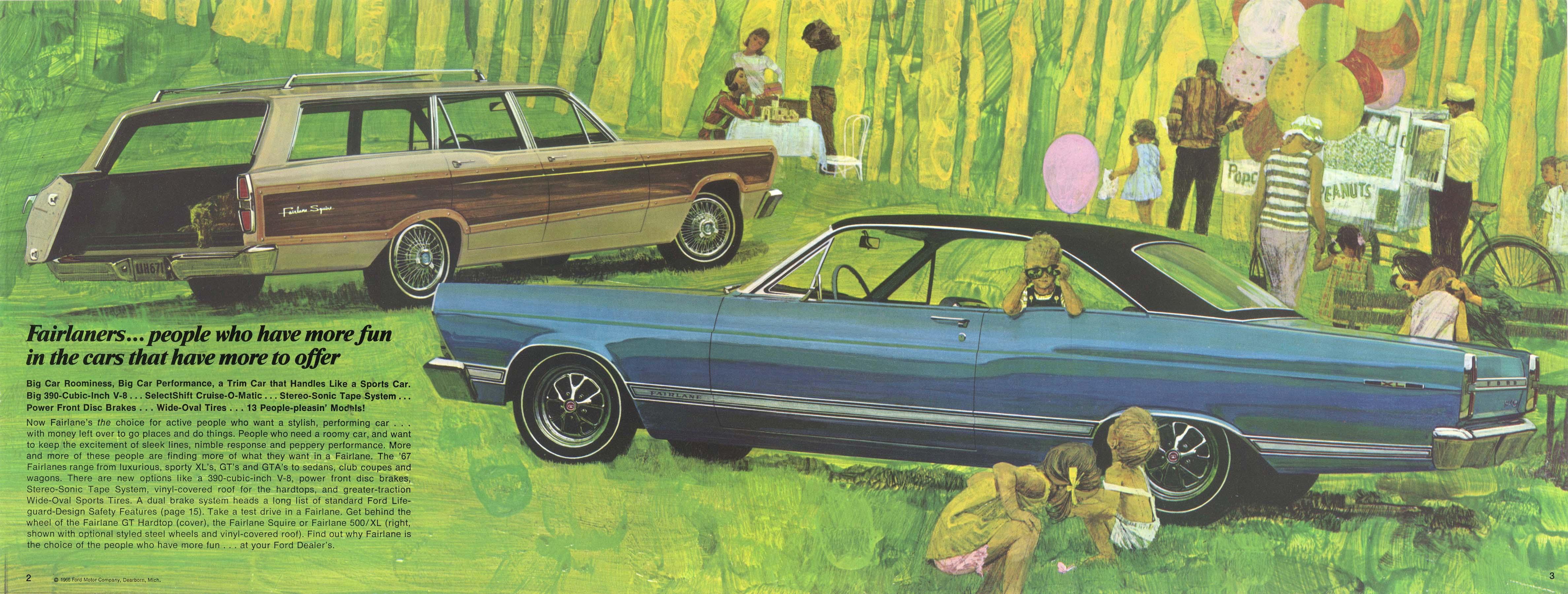 1967 Ford Fairlane Brochure