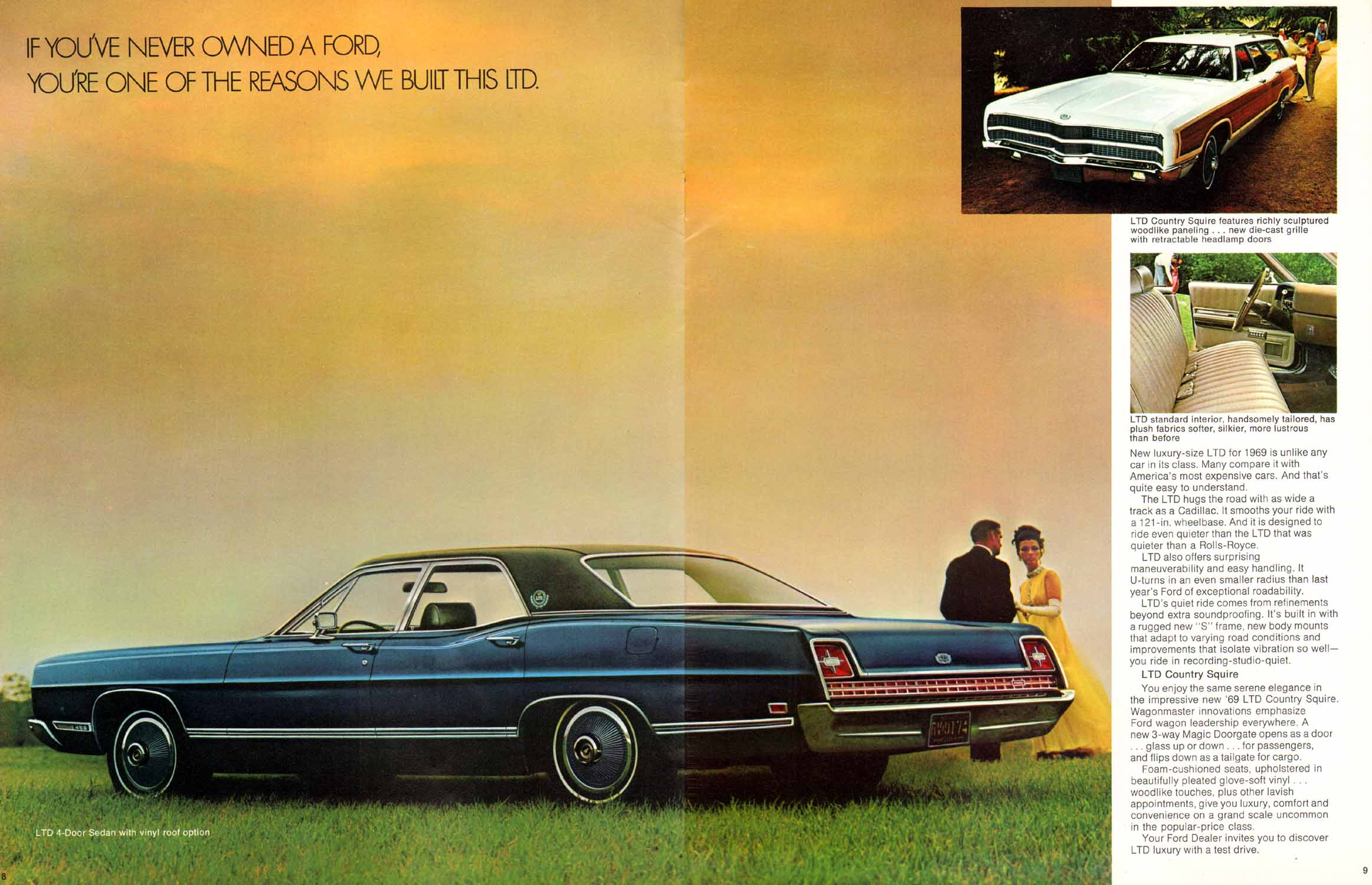 Directory Index Ford 1969 Ford 1969 Ford Full Size Brochure