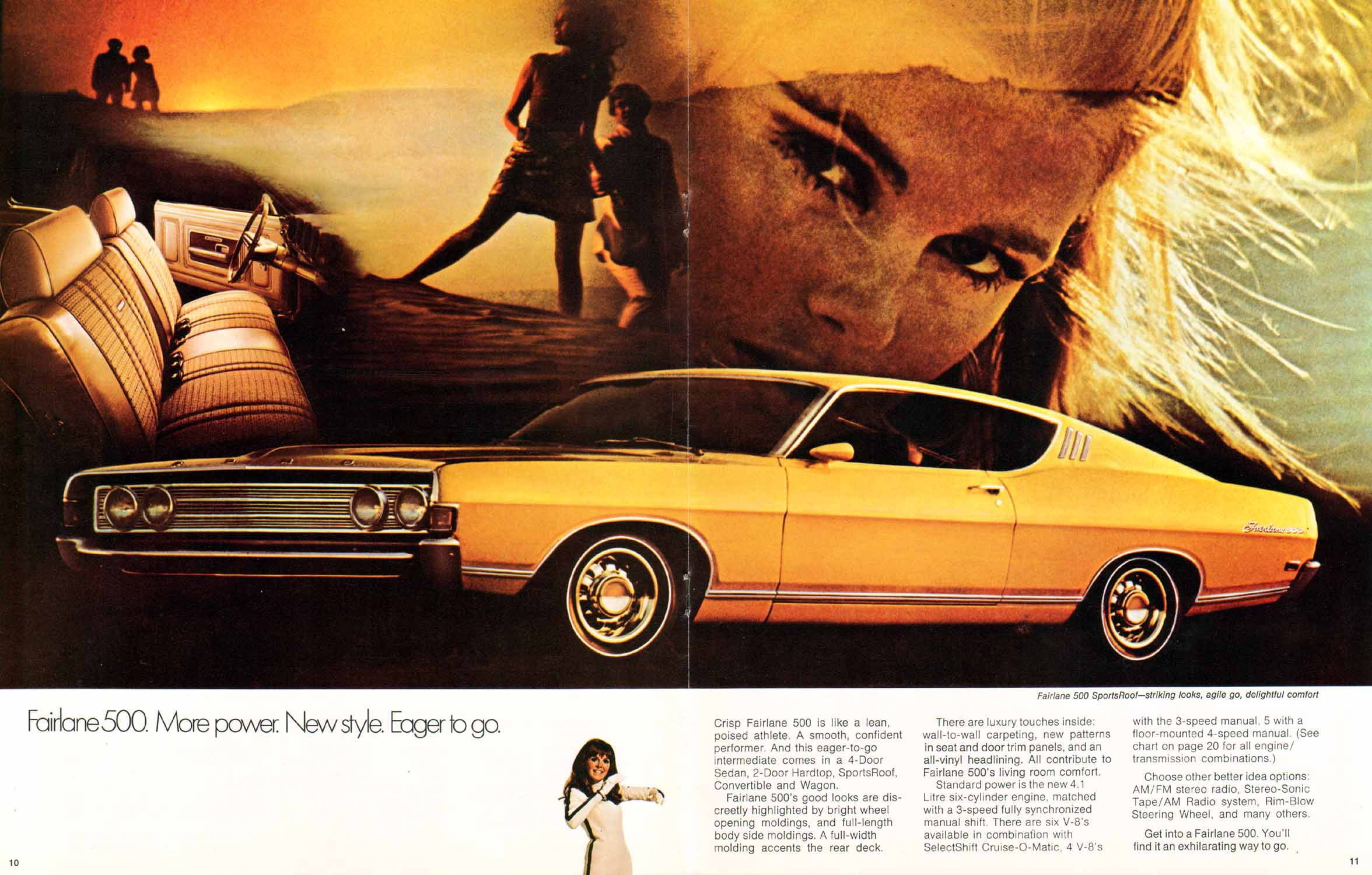 Directory Index Ford 1969 Torino And Fairlane Brochure Muscle Cars Amp 10 11