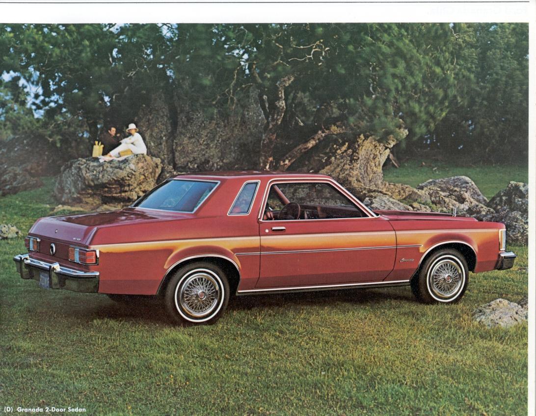 Ford Granada Brochure