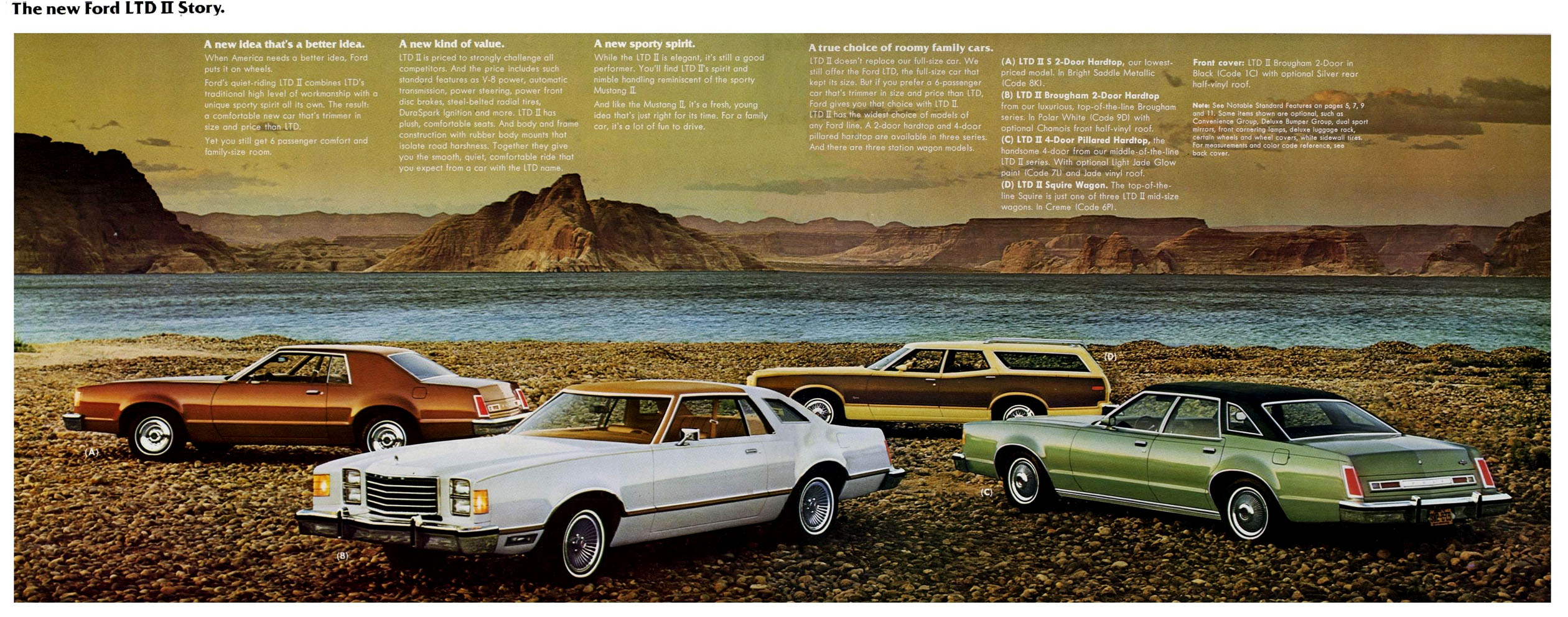 Directory Index Ford 1977 Ford 1977 Ford Ltd Ii Brochure