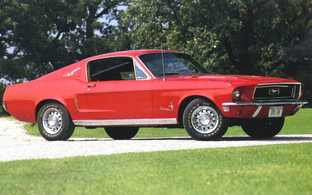 1968 Ford Mustang Welcome To The Old Car