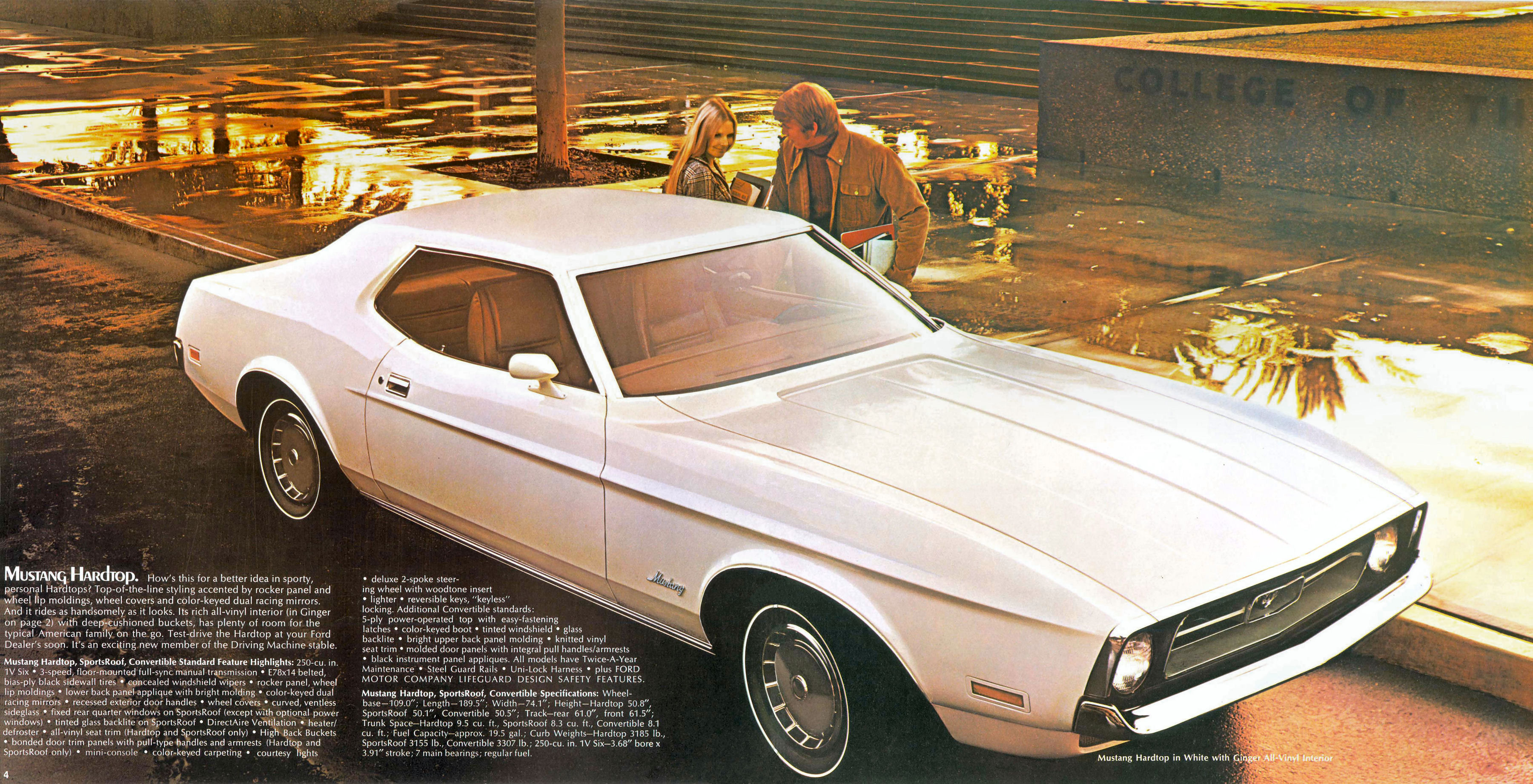 1972 Ford Mustang Brochure