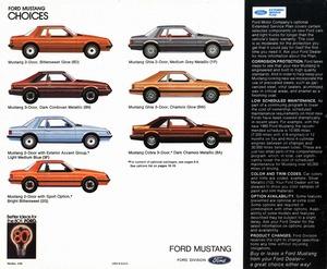 1980 ford mustang brochure 1996 Ford Mustang 2015 Ford Mustang