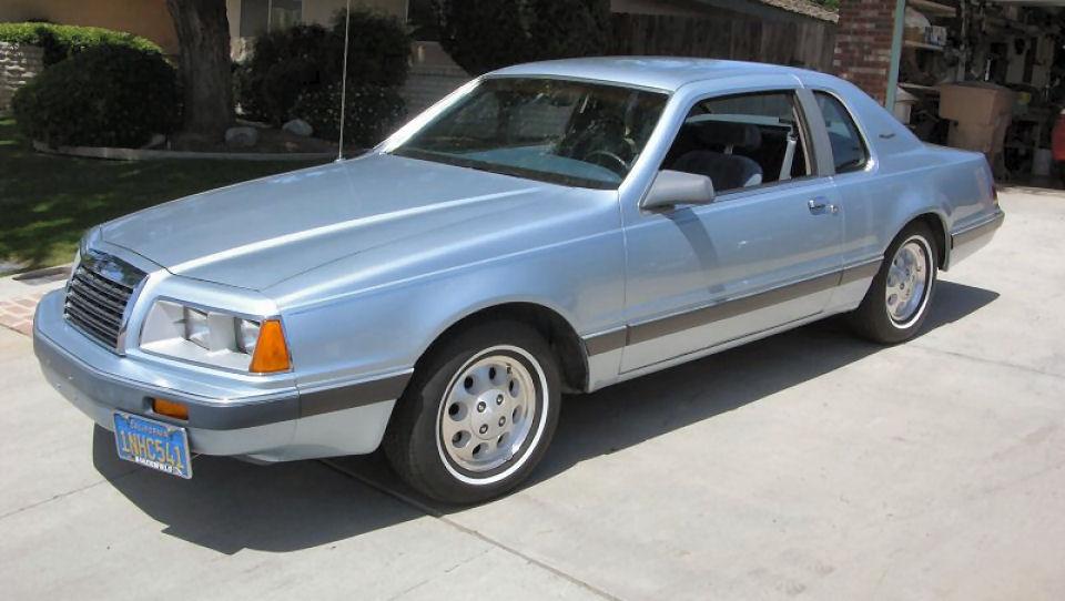 Old Car Dealers >> 1985 Ford Thunderbird Brochures