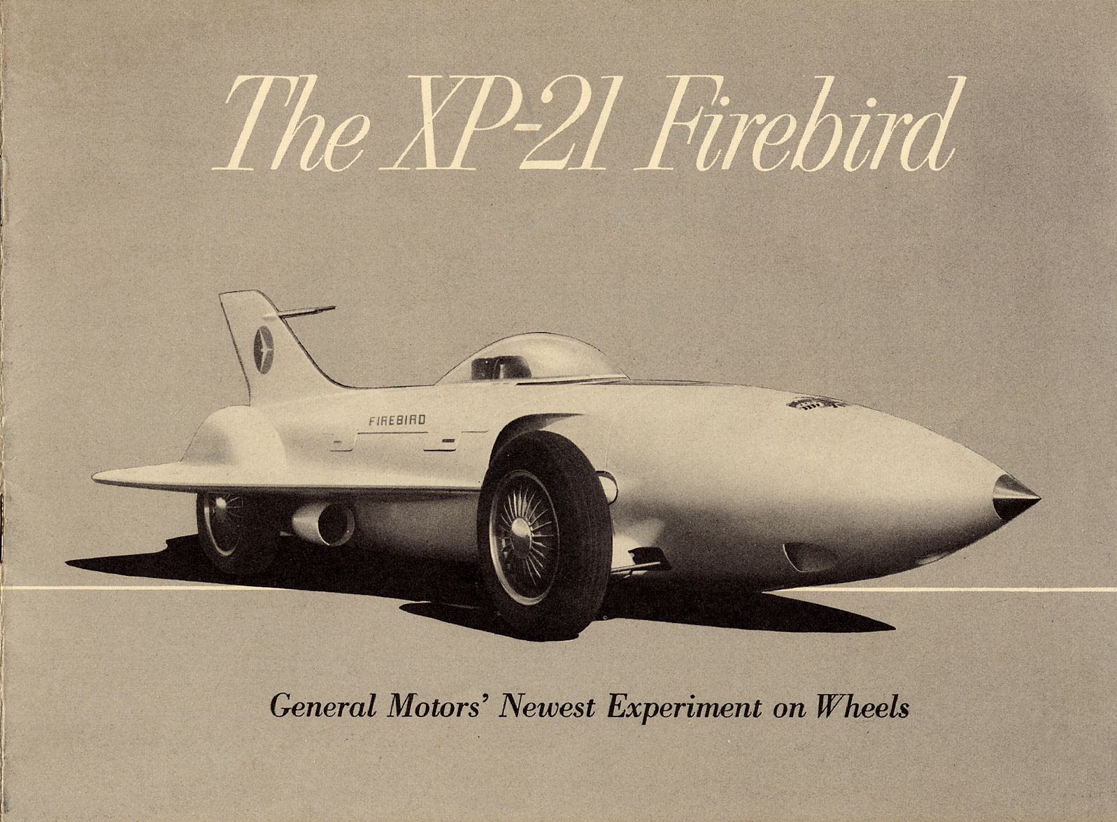 Old Car Dealers >> Directory Index: GM Corporate and Concepts/1954 XP-21 Firebird