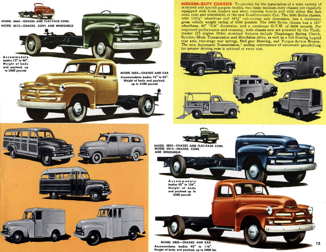 Directory Index Gm Trucks And Vans 1954 Trucks And 1954