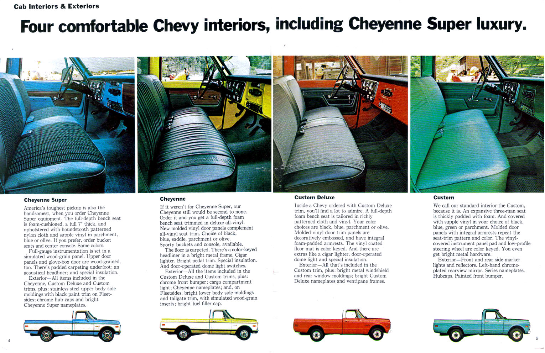 Pics Of Oem 1972 Seats The 1947 Present Chevrolet