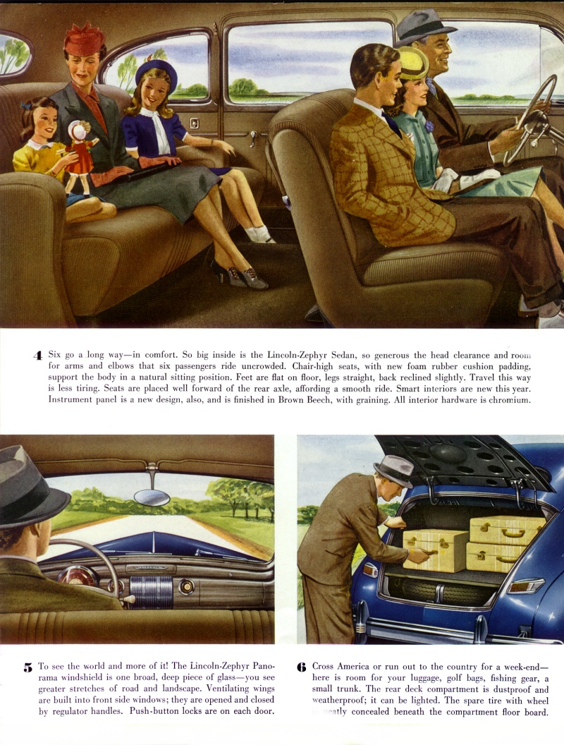 Directory Index  Lincoln  1941 Lincoln  1941 Lincoln Zephyr Brochure