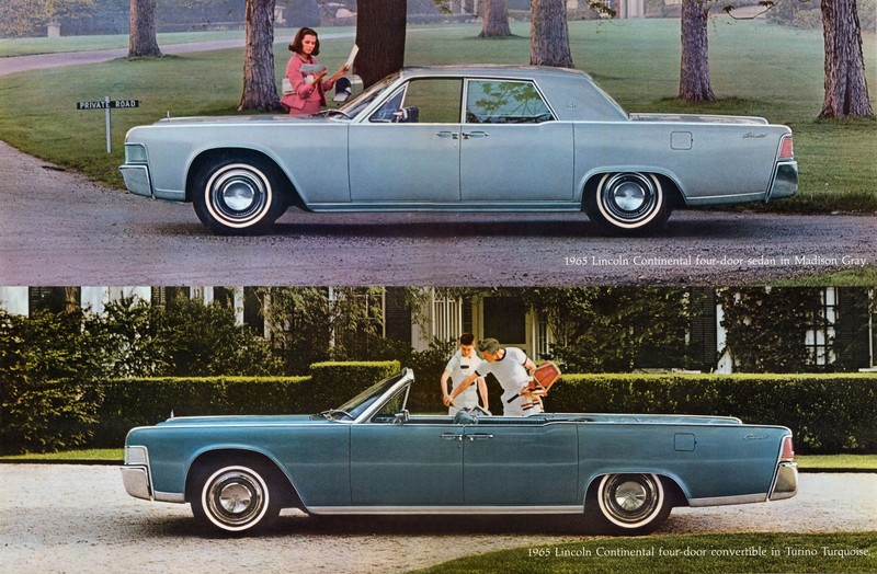 directory index lincoln 1965 lincoln 1965 lincoln continental brochure. Black Bedroom Furniture Sets. Home Design Ideas