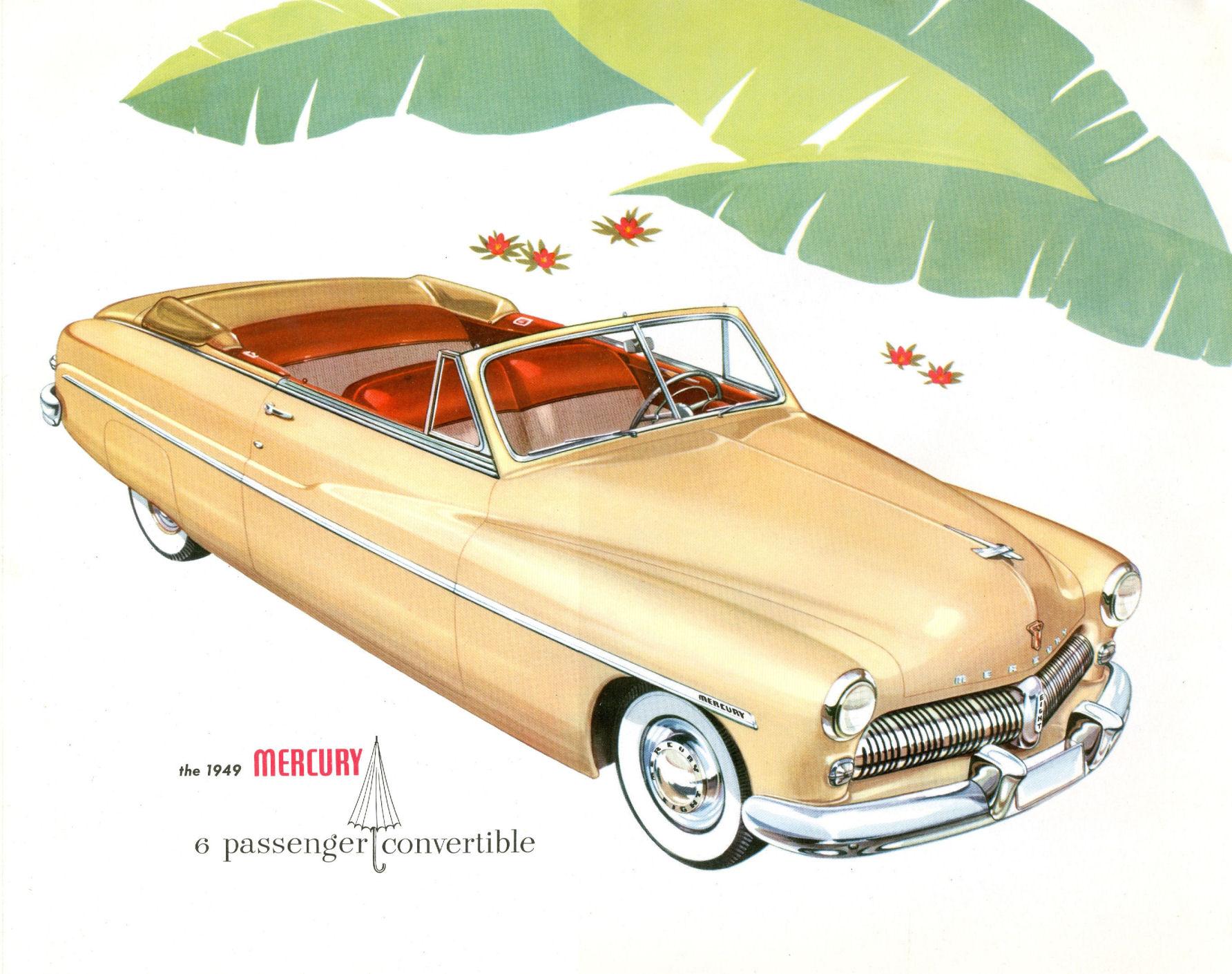Old Car Dealers >> Directory Index: Mercury/1949_Mercury/1949 Mercury Brochure