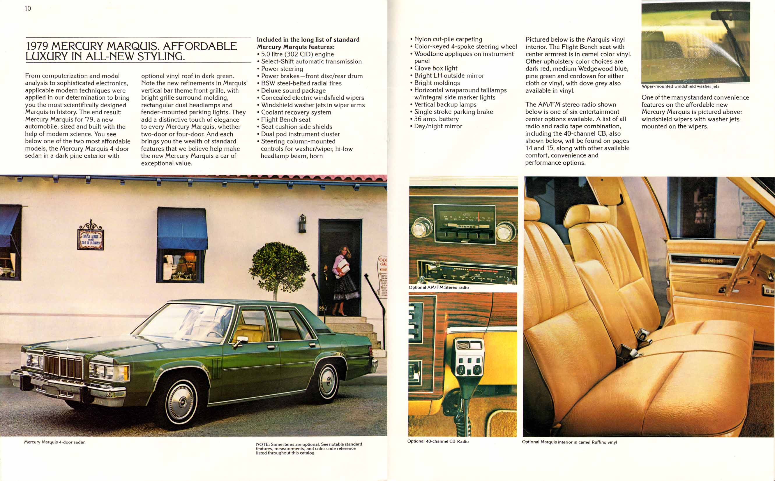 1979 mercury marquis brochure old car brochures