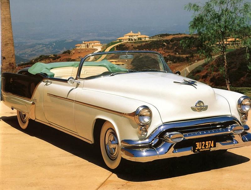 1953 oldsmobile convertible